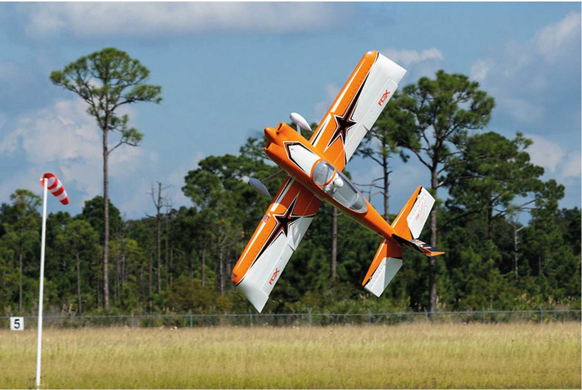 PREMIER AIRCRAFT RV-8 SUPER PNP ORANGE MIT AURA 8