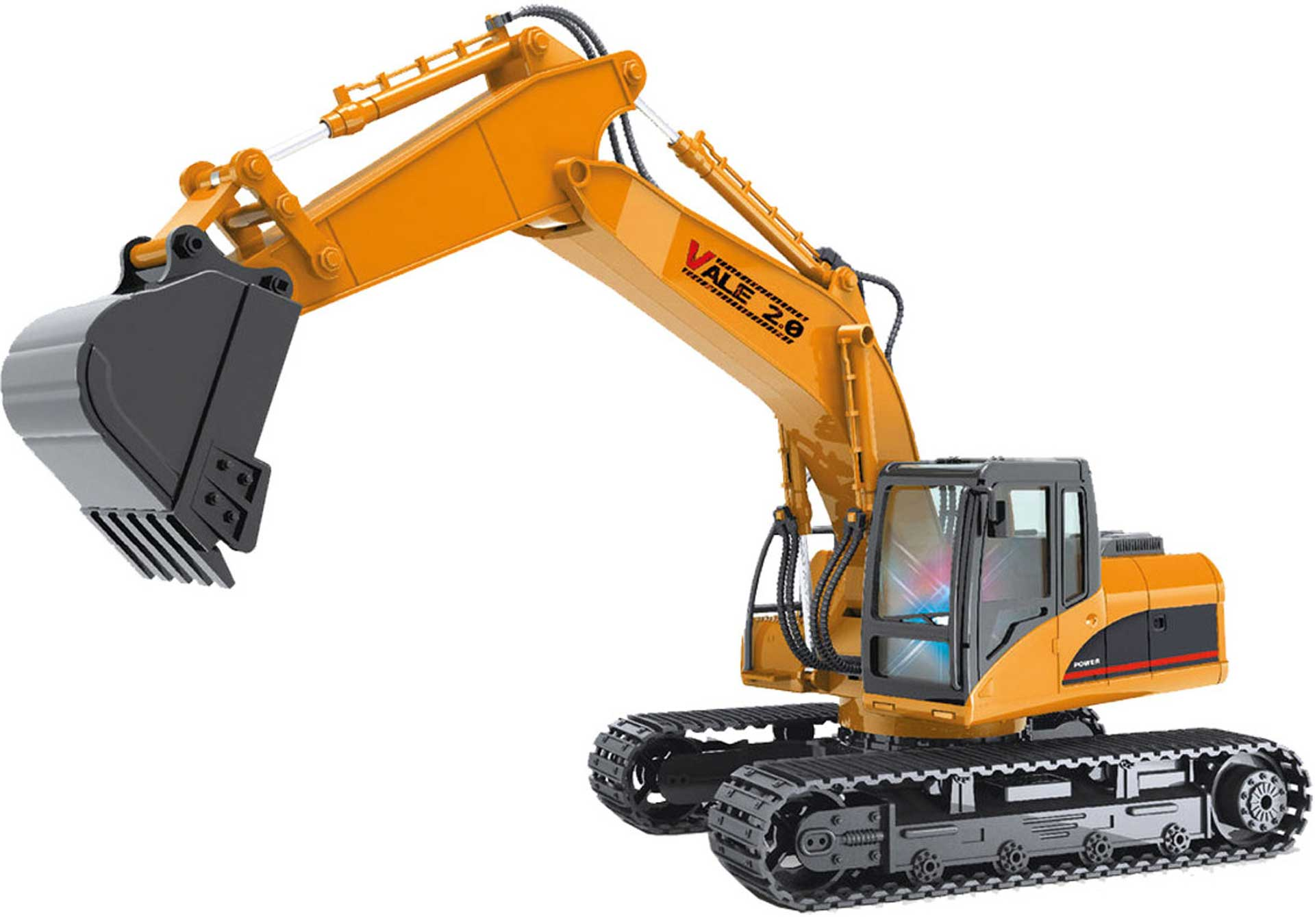 DRIVE & FLY MODELS VALE 2.0 RC EXCAVATOR RTR 1/14