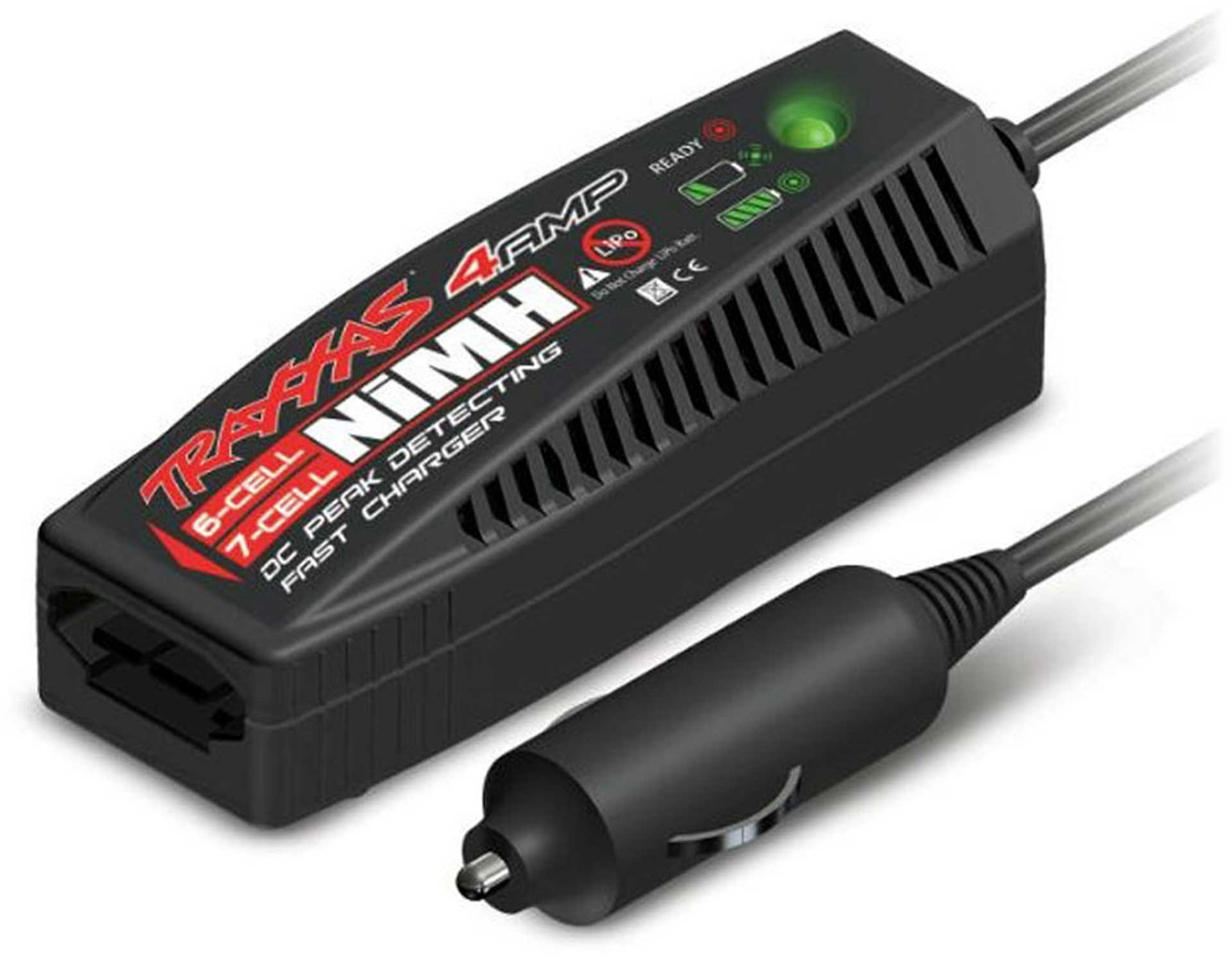 TRAXXAS 4-Amp NiMH DC Schnell-Lader (7.2 - 8.4V) iD-Stecker