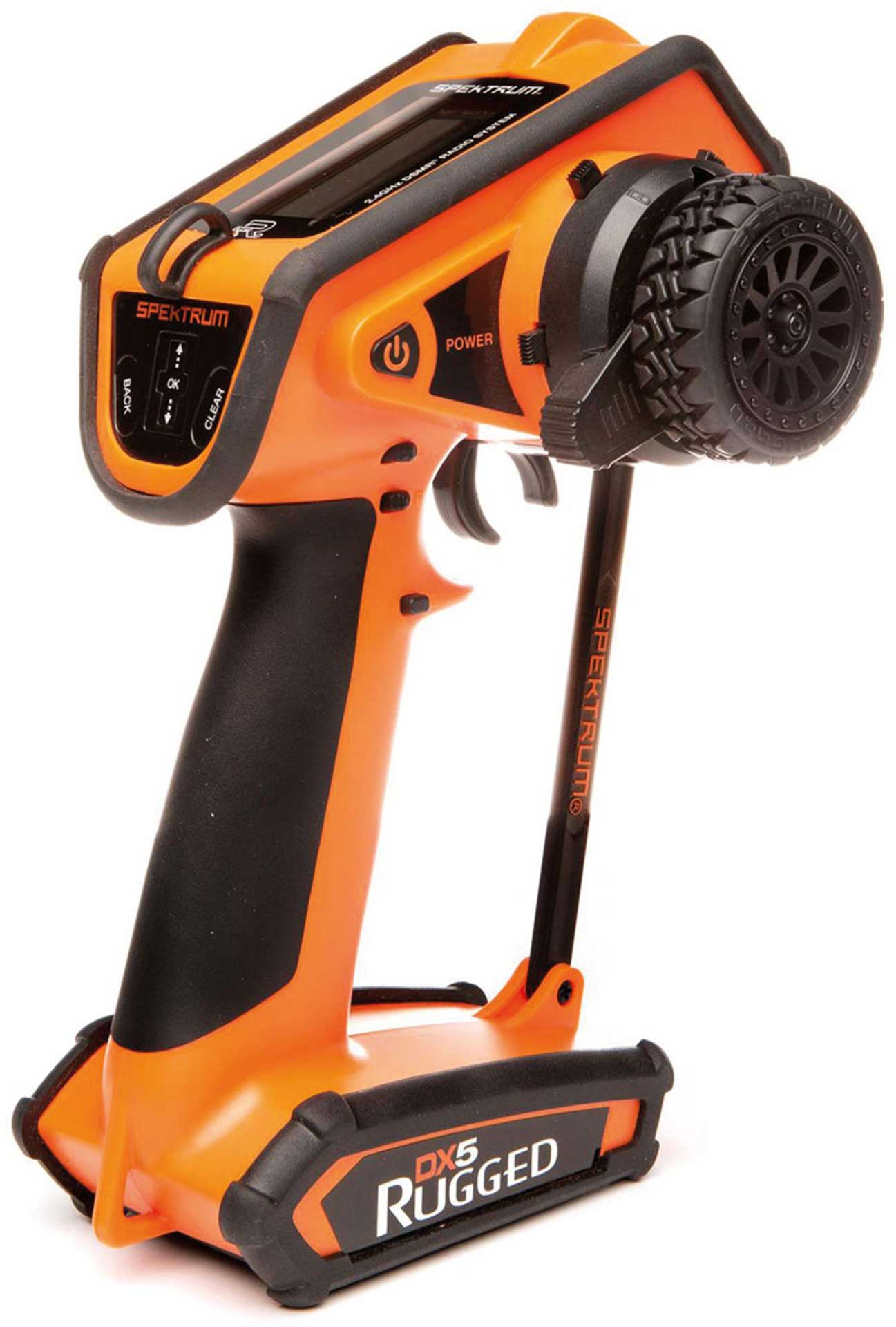 SPEKTRUM DX5 Rugged DSMR TX ONLY ORANGE *B-Goods* Special Edition