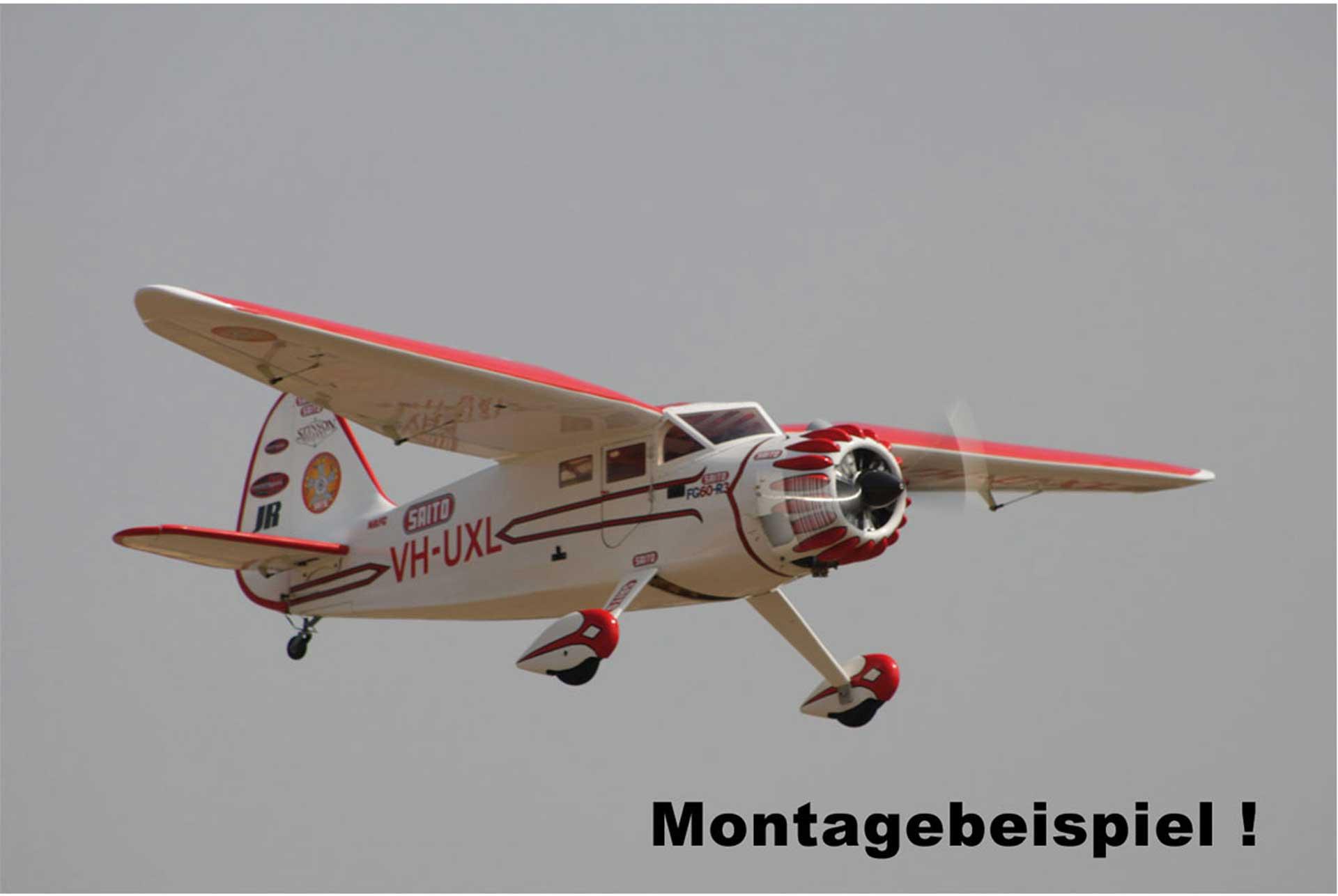 SAITO FG-60R3 BENZIN MOTOR 3 ZYLINDER
