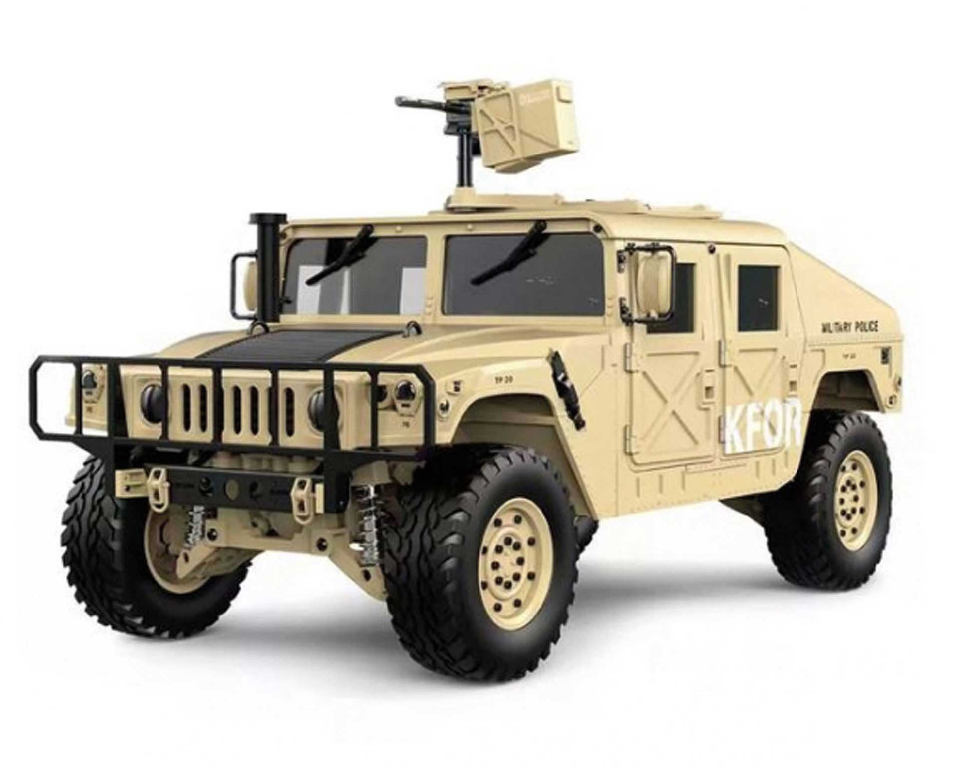 FM-ELECTRICS Military SUV with four-wheel drive 1/10 XL EP 4WD