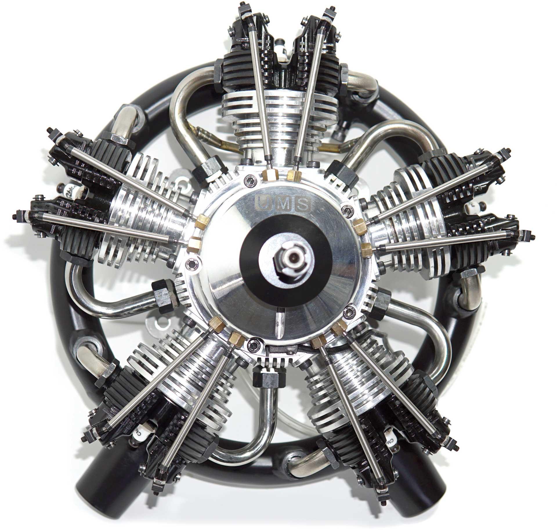 UMS Sternmotor 5 Zylinder 100ccm Benziner