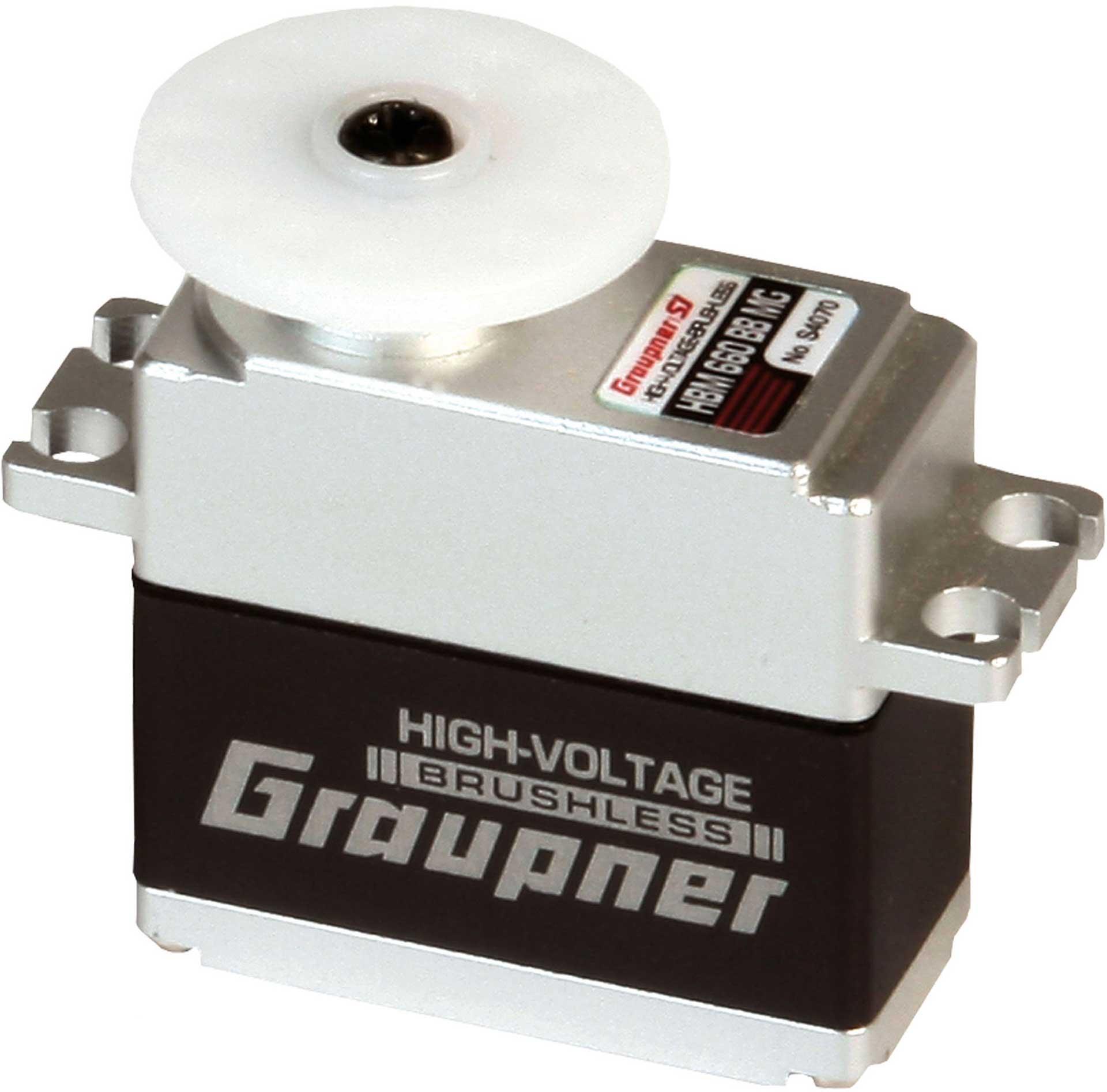 GRAUPNER HBM 660 BB MG DIGI HV BRUSHLESS TORQUE WITH 16MM WIDTH