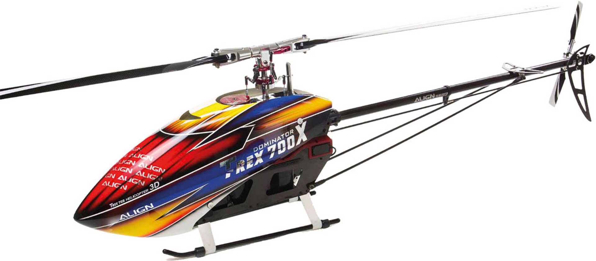 ALIGN T-REX 700X DOMINATOR COMBO Hubschrauber / Helikopter