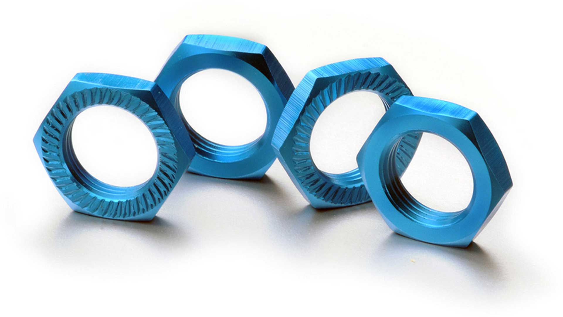 ABSIMA Wheel nut self-locking 17mm blue (4)
