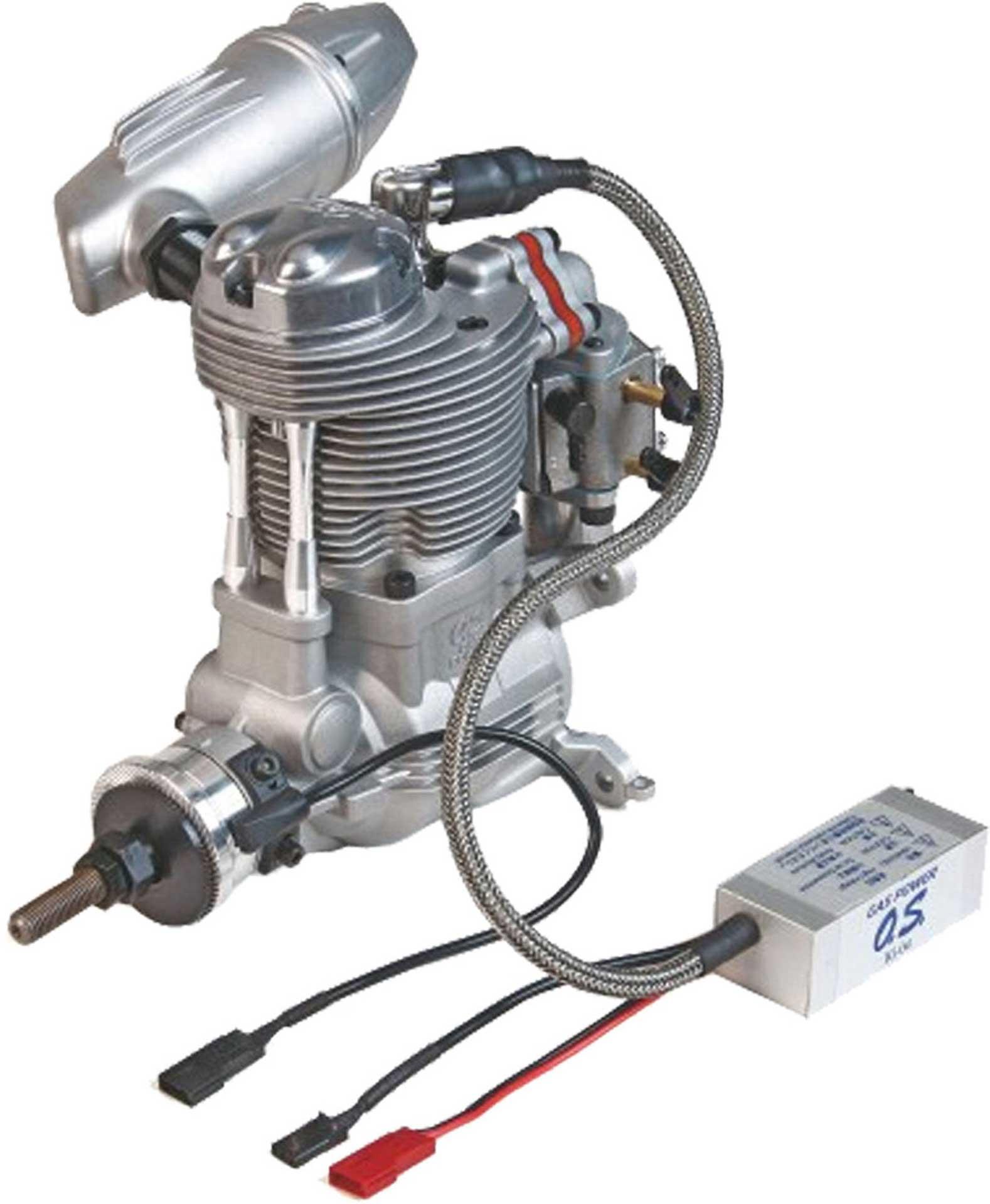 OS GF 40 PETROL 4-STROKE ENGINE WITH SILENCER AND ELECTRONIC IGNITION