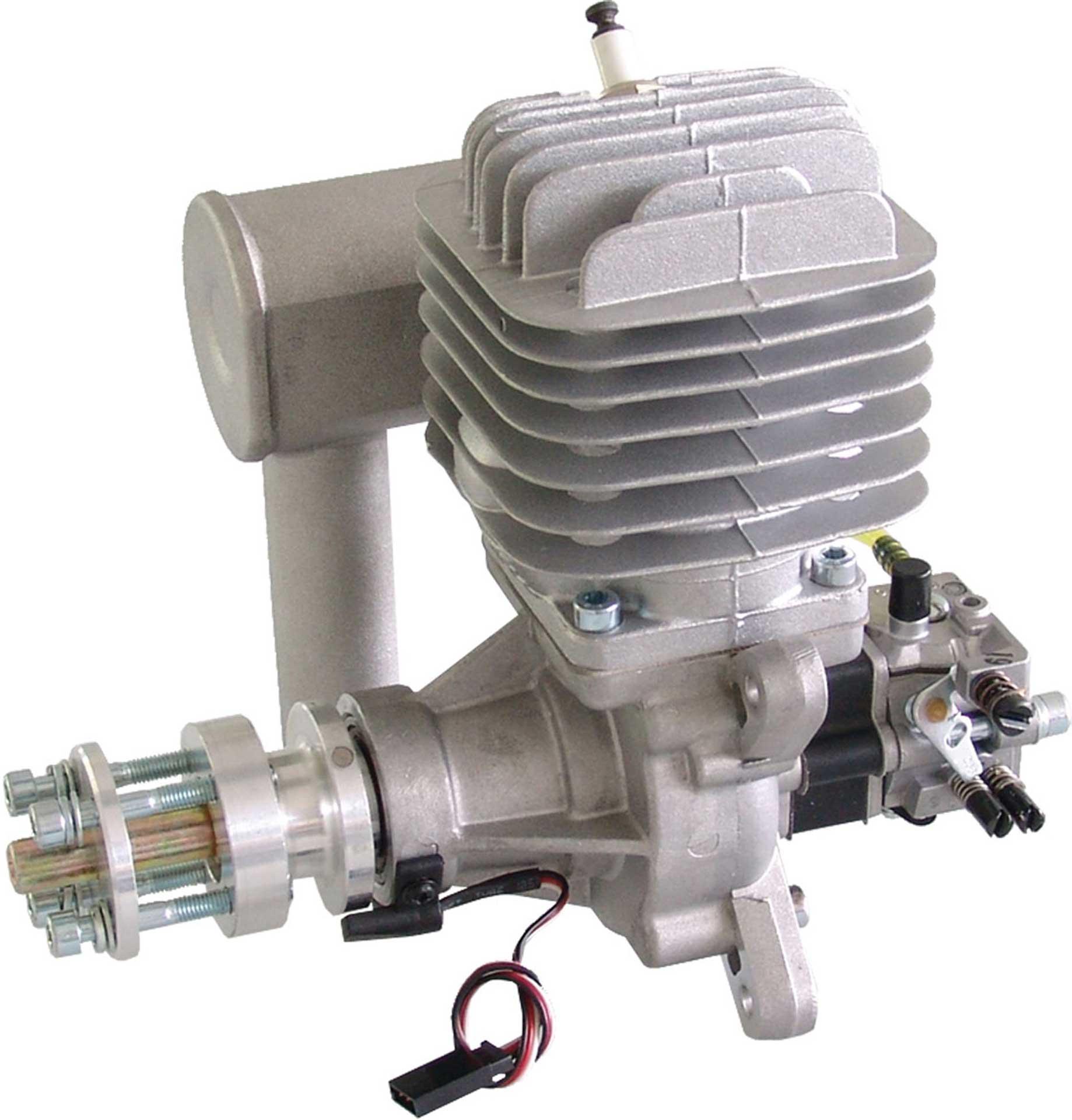 DLE Engines DLE 55 BENZIN MOTOR SEITENAUSLASS