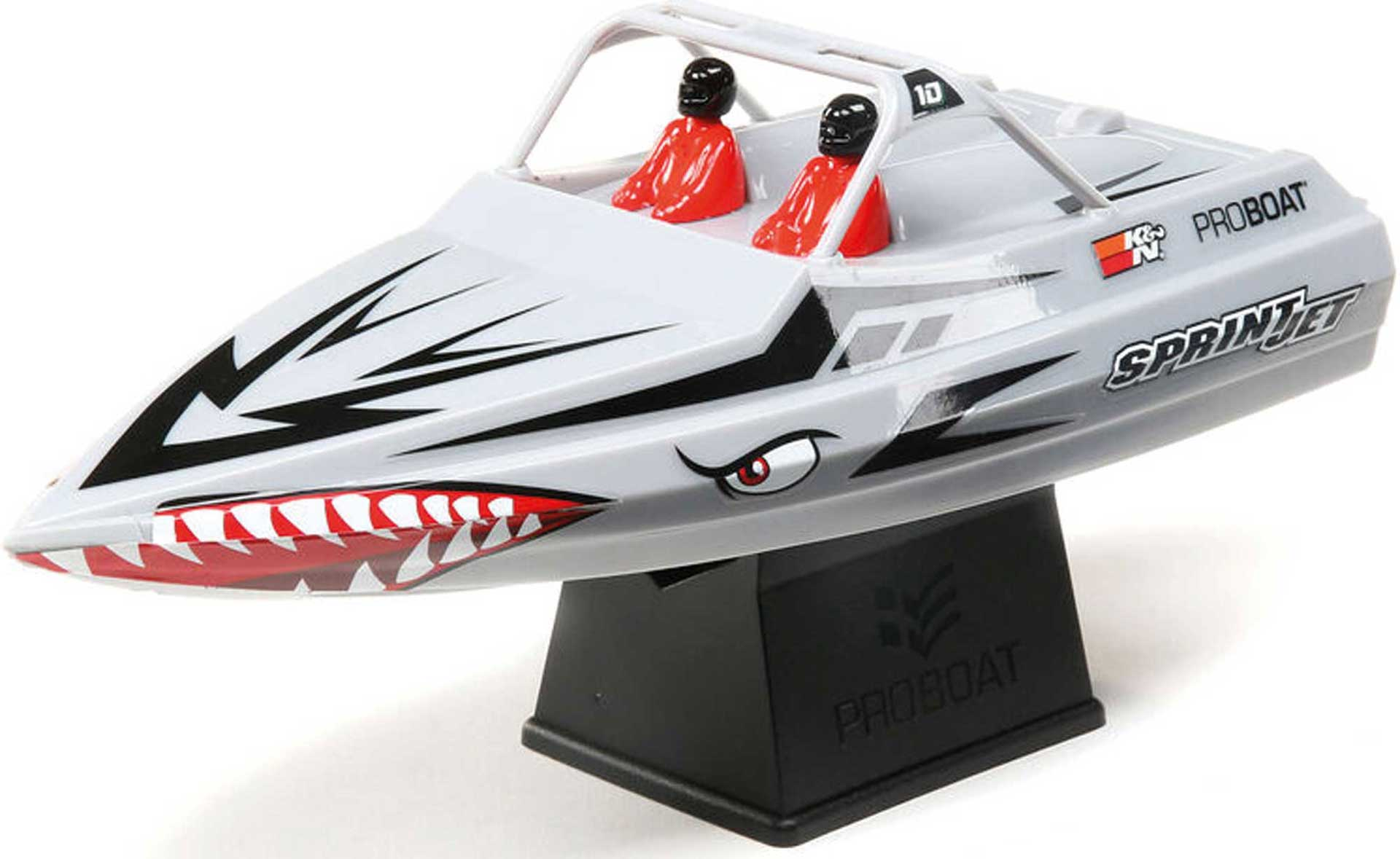 PROBOAT SPRINT JET 9-INCH BOAT RTR SILVER