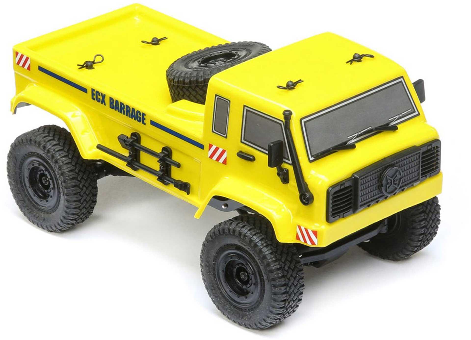 ECX BARRAGE UV 4WD SCALER CRAWLER RTR GELB 1/24