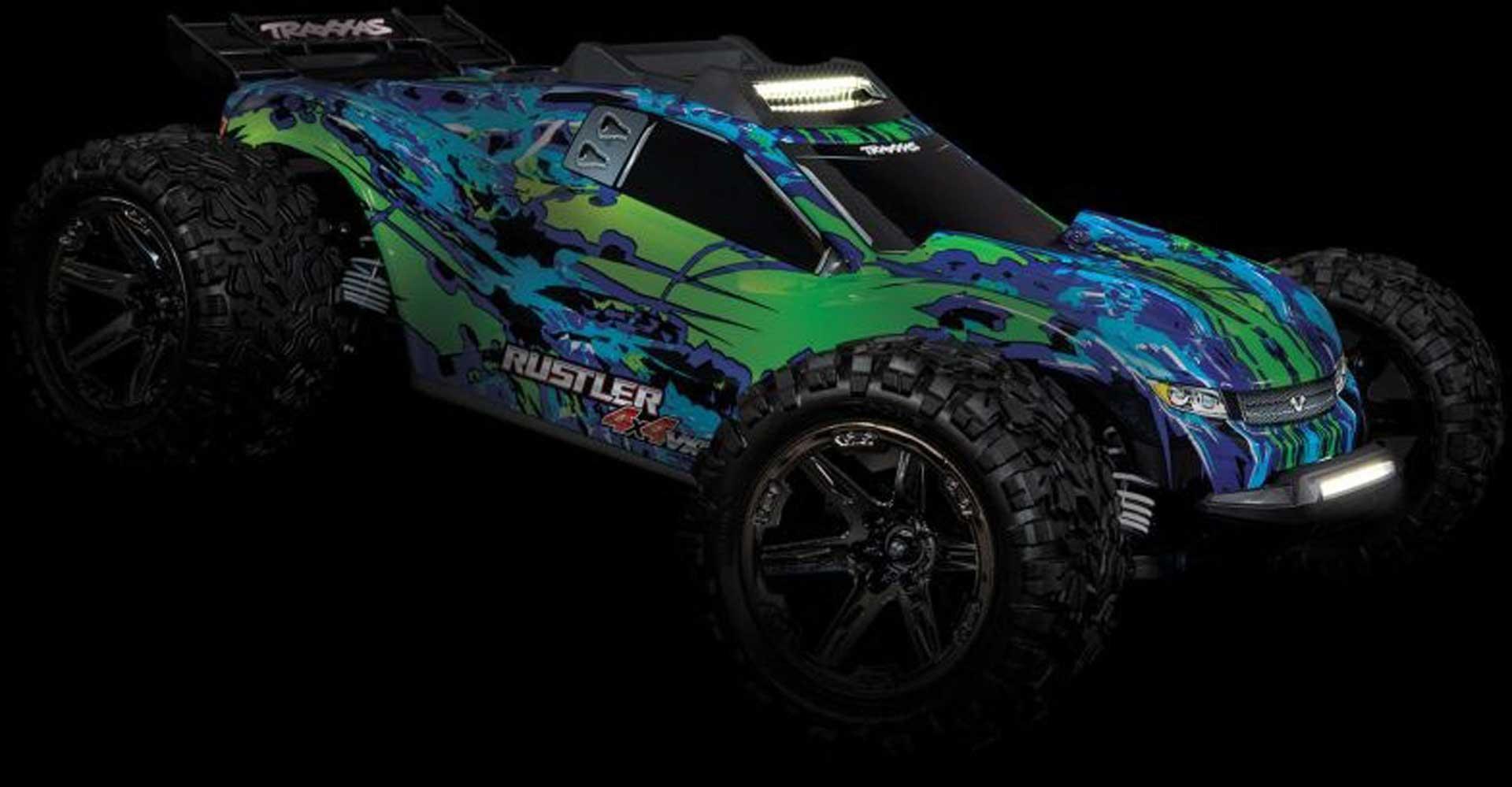 TRAXXAS Bumper mit LED-Licht Rustler 4x4
