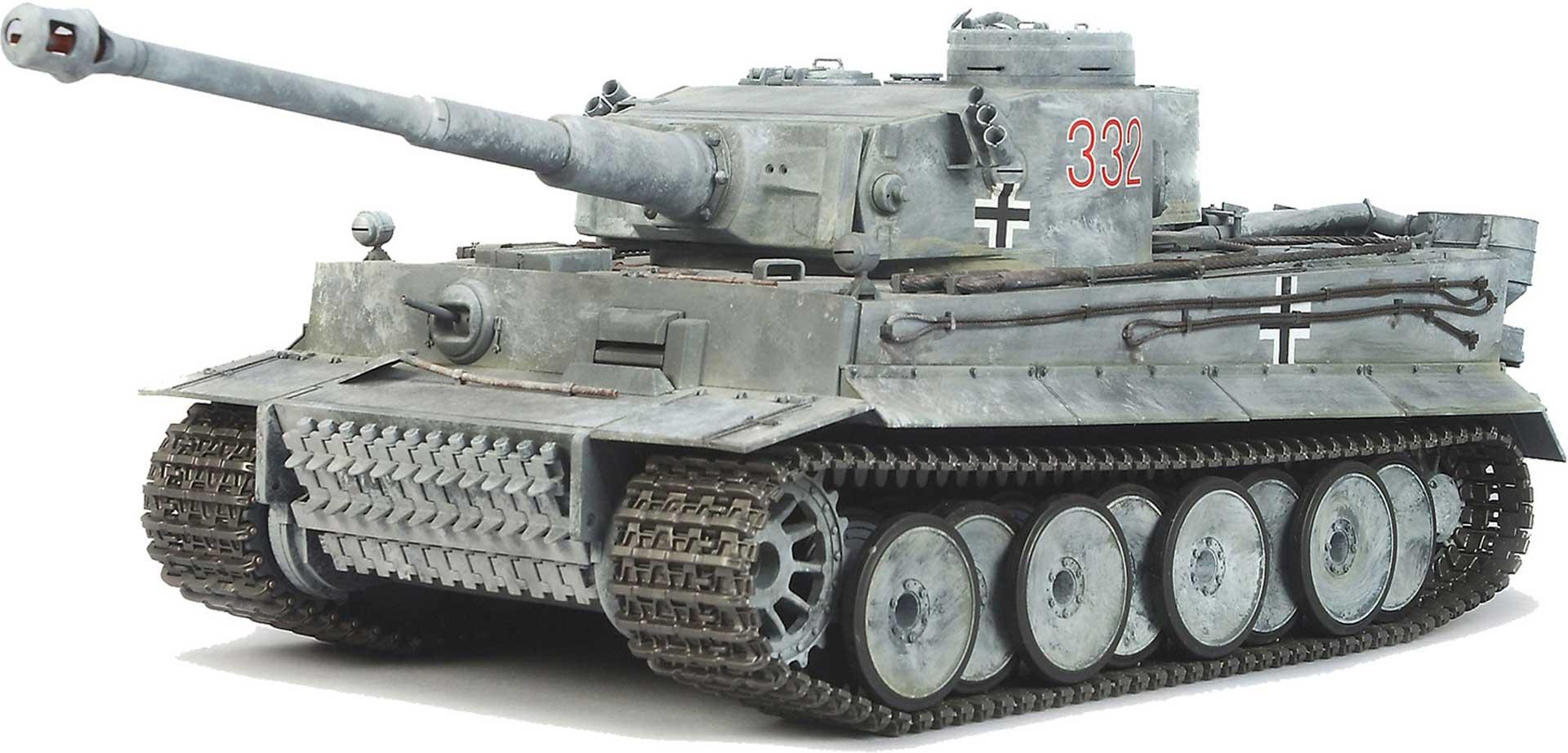 TAMIYA TIGER I PANZER 1/16 M.DMD T-03 MF-01 TAM