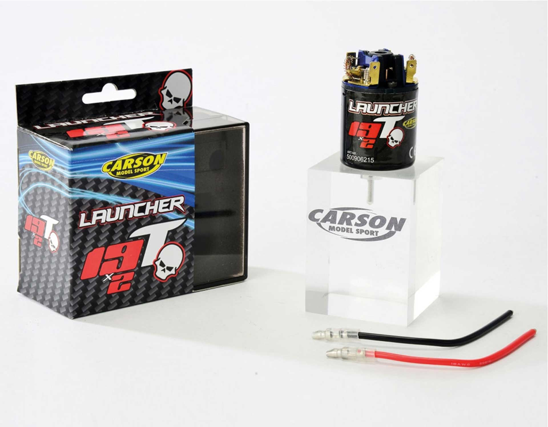 CARSON LAUNCHER 19X2T TUNING ELECTROMOTOR BRUSHED 540