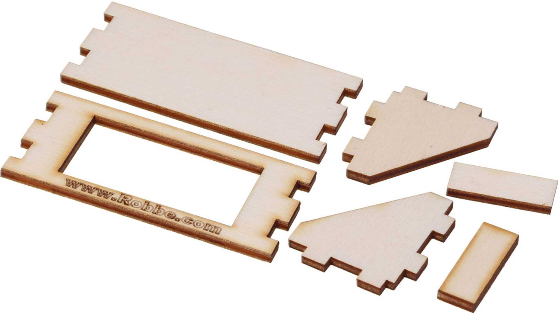 Robbe Modellsport CNC SERVOHALTER MINI (FS 155) 90 GRAD
