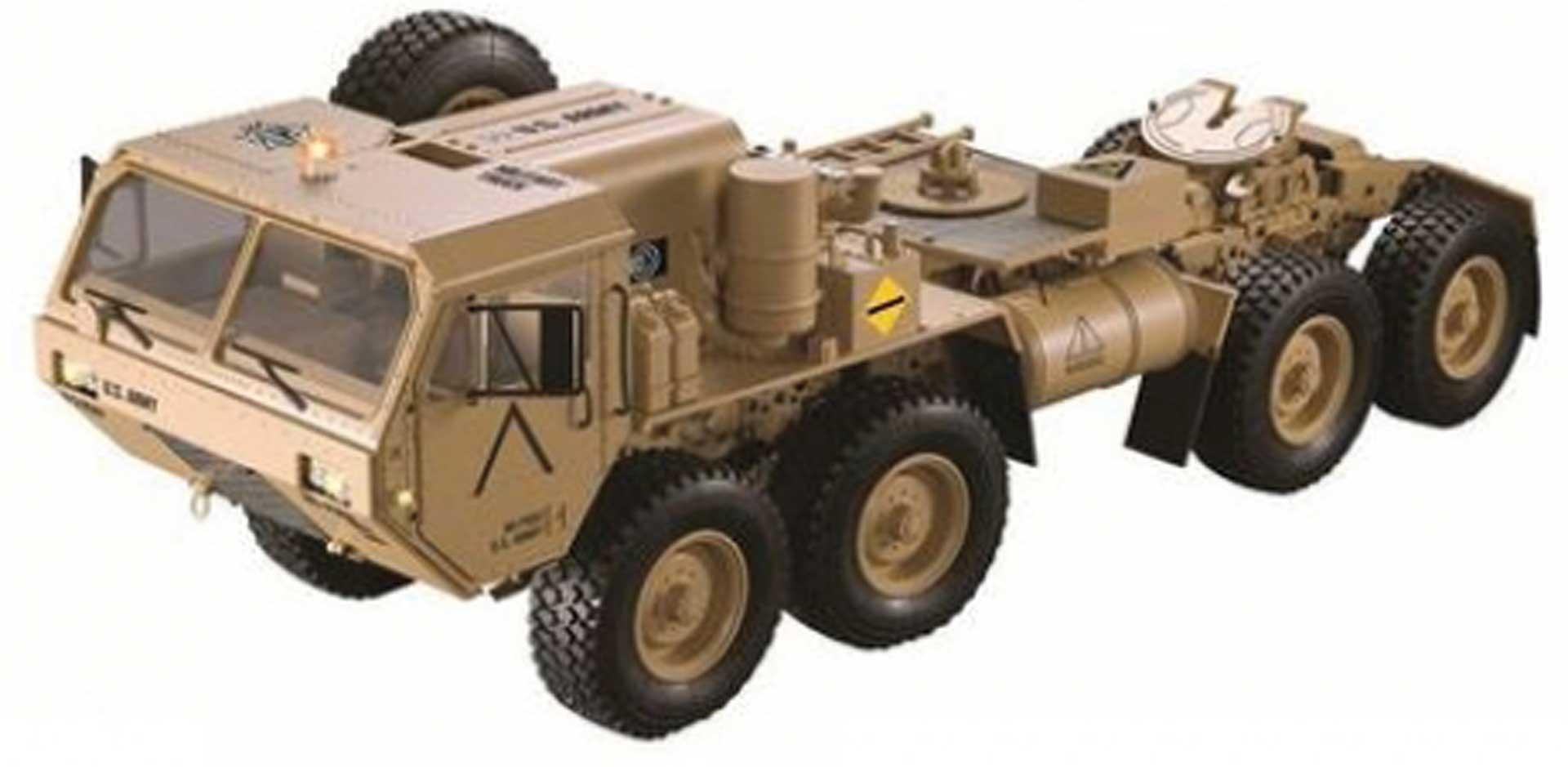 FM-ELECTRICS XL Military Truck 1/10 Zugmaschine 8X8 Allrad