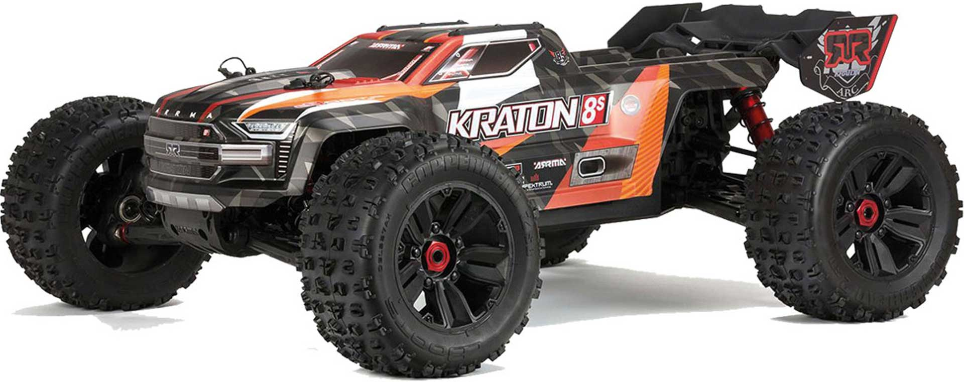 Arrma 1/5 KRATON 4WD 8S BLX Speed Monster Truck RTR:ORNG