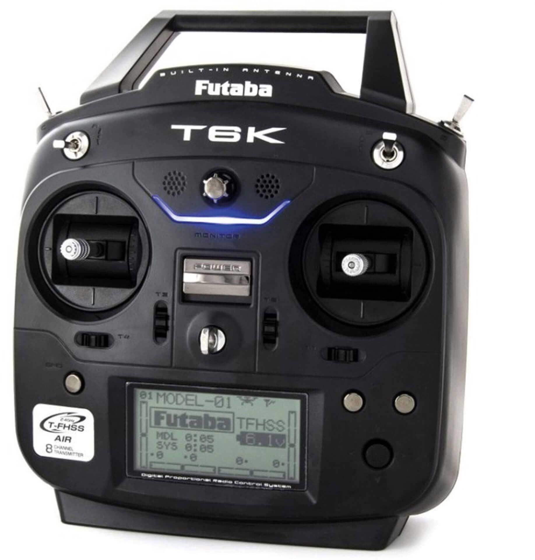 FUTABA T6K V2.0 T-FHSS Mode 2 mit R3006SB, Lipo und Ladegerät