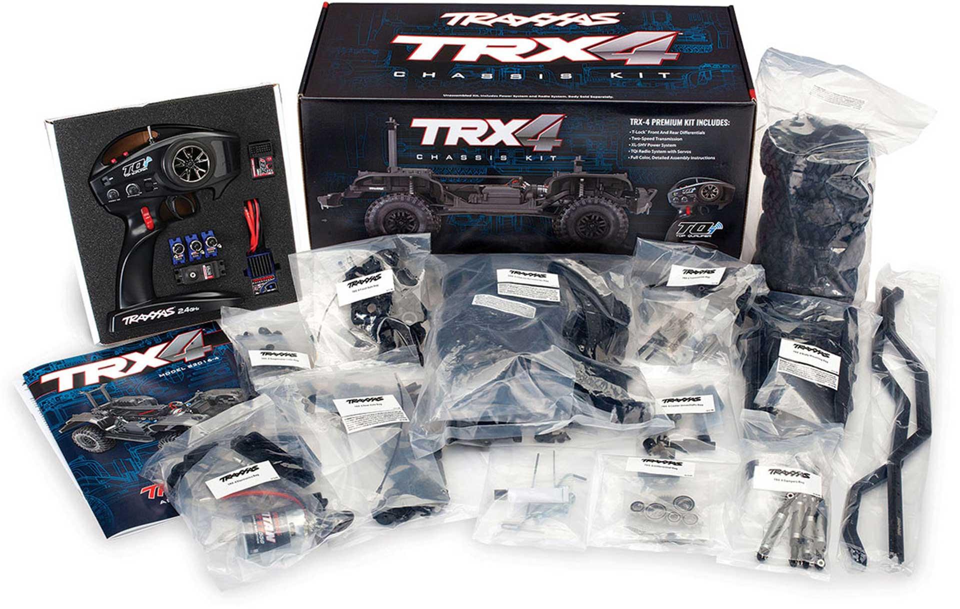 TRAXXAS TRX-4 KIT CRAWLER KIT