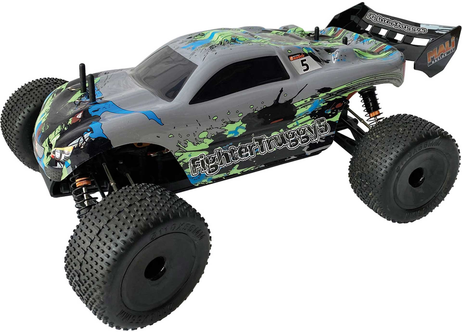 DRIVE & FLY MODELS FIGHTER TRUGGY 5 BRUSHLESS RTR 1/10 4WD
