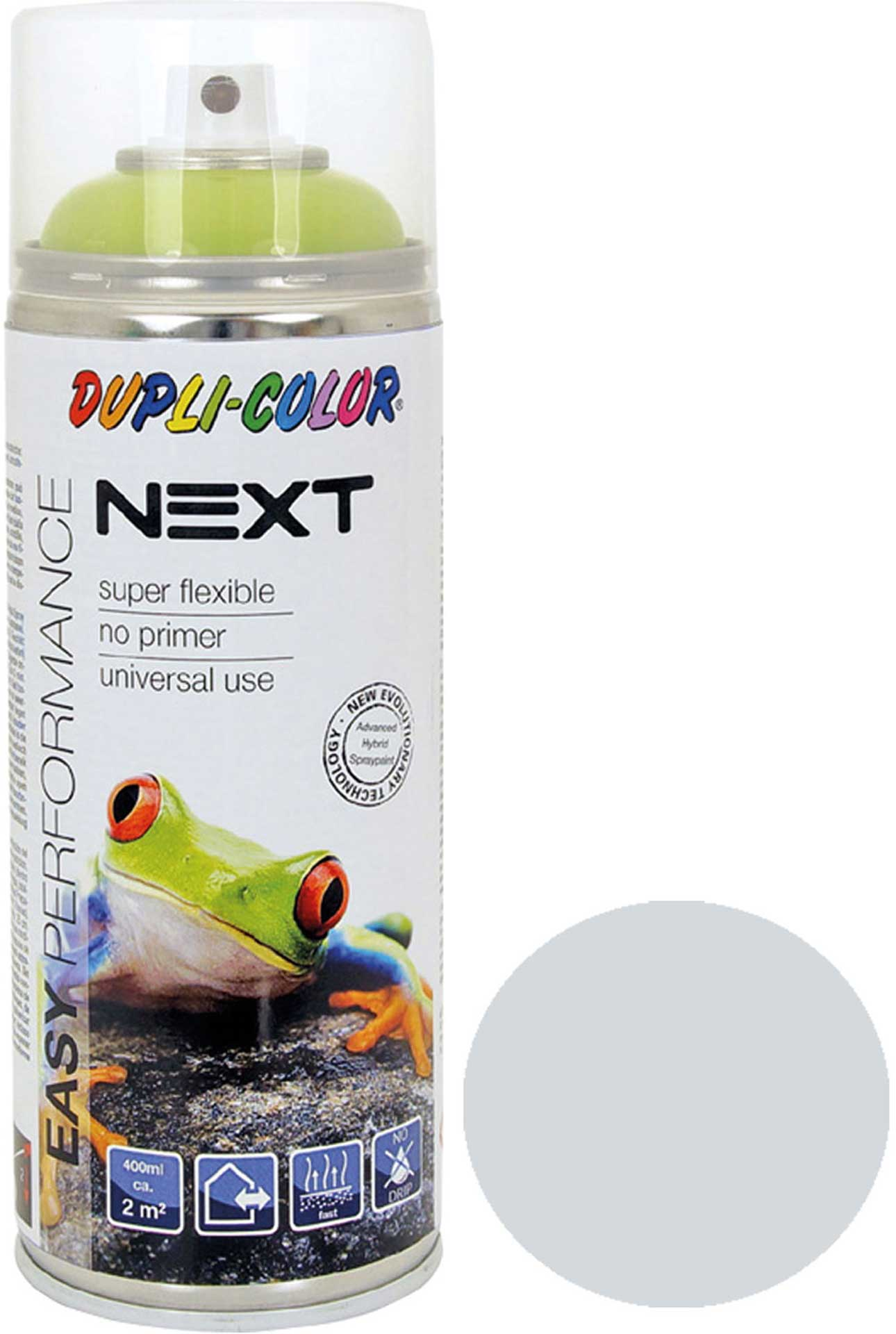 DUPLI-COLOR NEXT RAL 7035 LIGHT GREY 400ML SPRAY PAINT