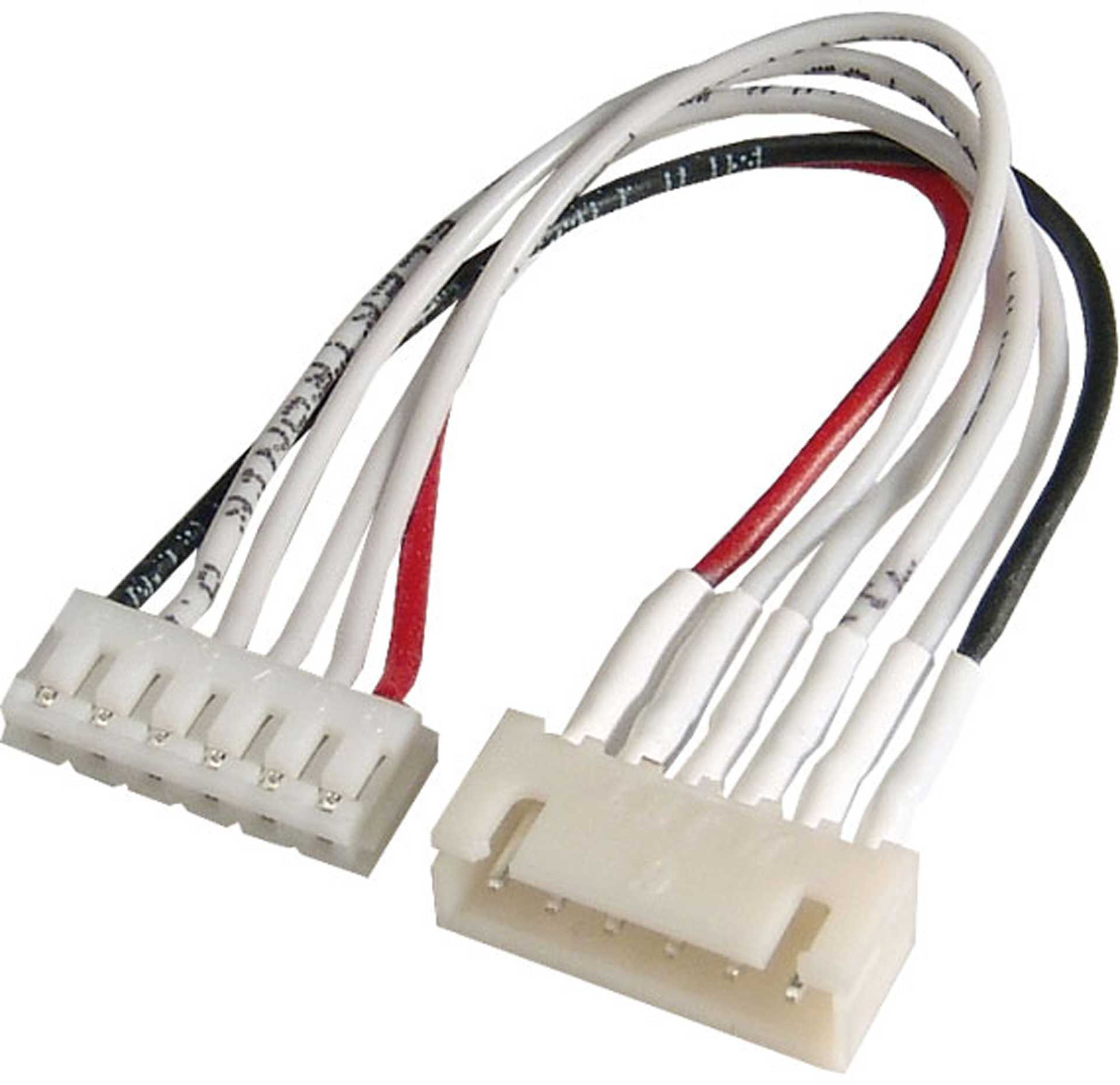MODELLBAU LINDINGER SENSOR ADAPTER CABLE XH TO 5S 1PCS.