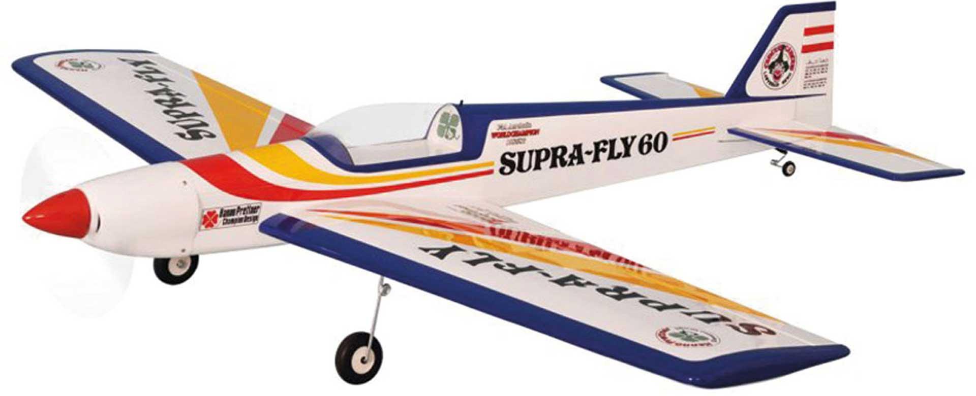 PICHLER SUPRA FLY 60 ROT/GELB 1720 MM ARF HANNO PRETTNER DESIGN .