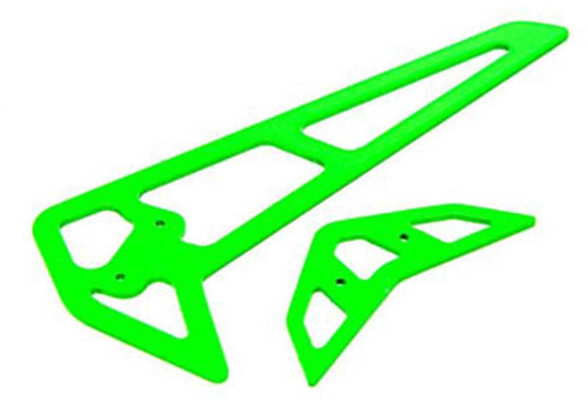 GREEN CARBON FIBER FINS BLADE 360 CFX
