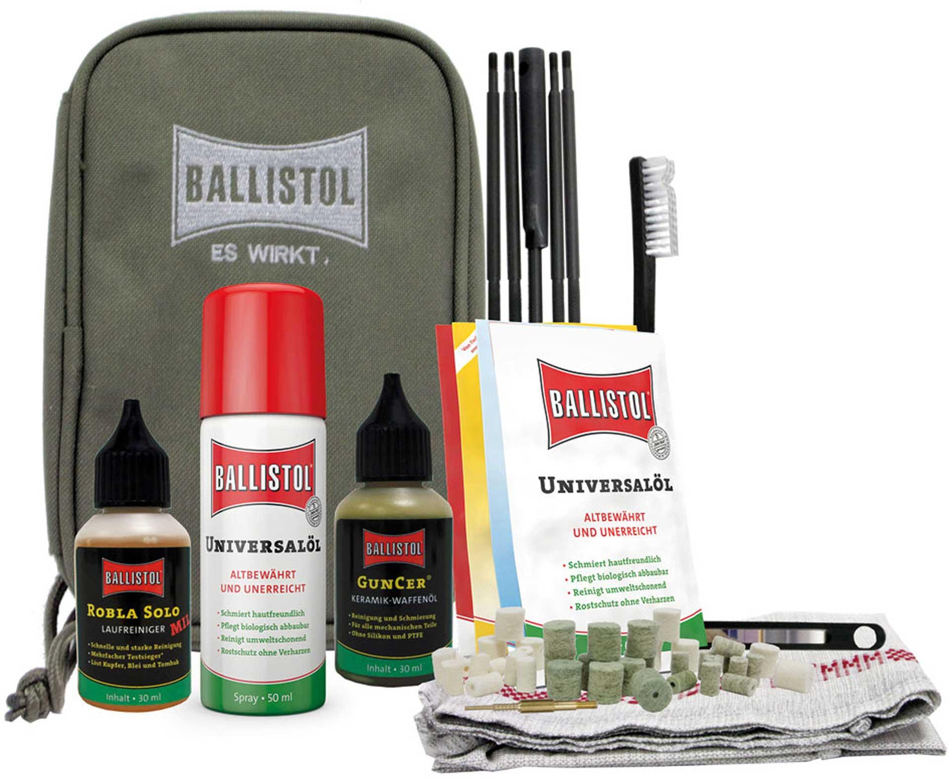 BALLISTOL GUN CLEANING BAG 44 PIECES
