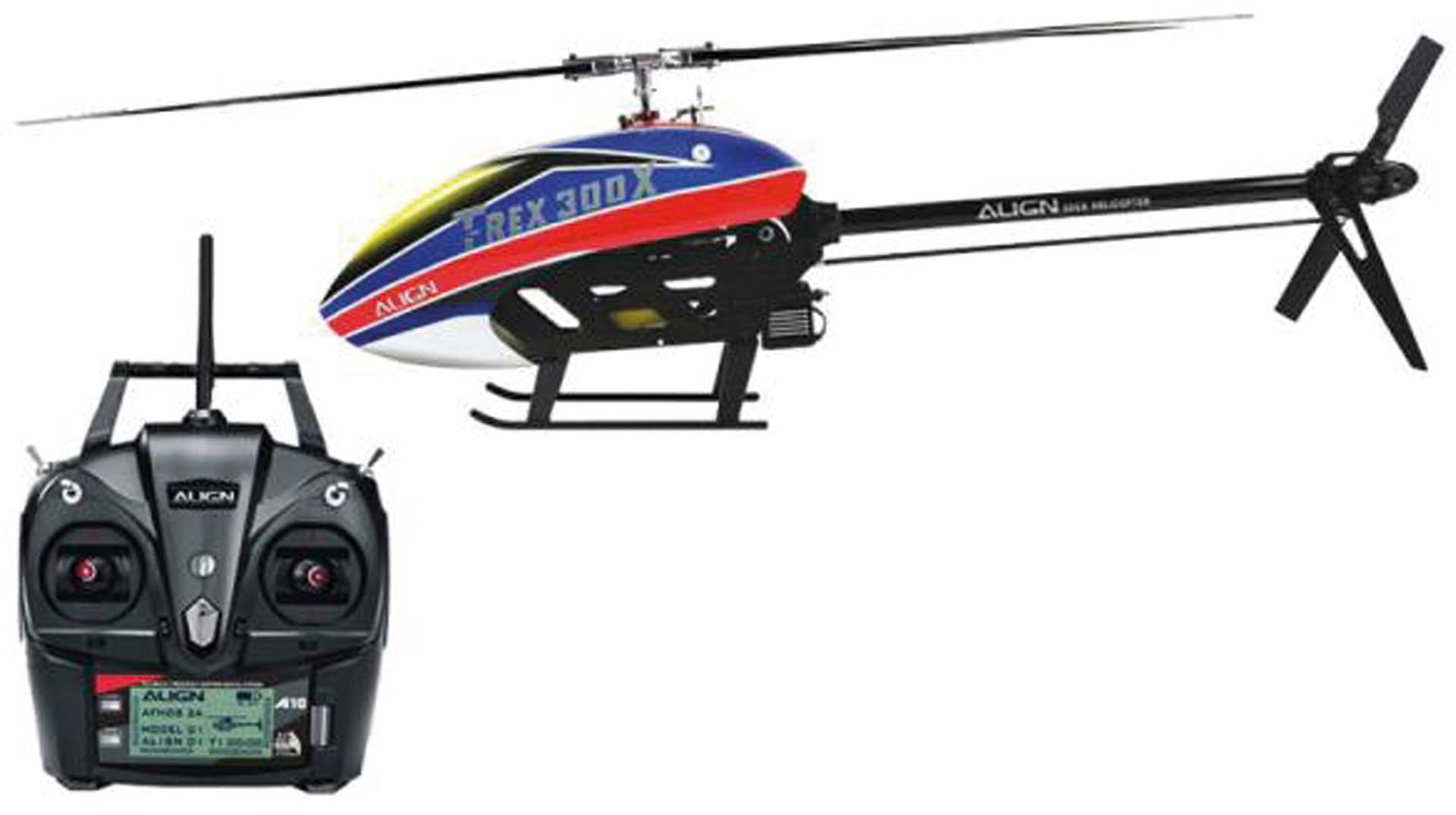 ALIGN T-REX 300X DOMINATOR Super Combo - RTF Hubschrauber / Helikopter