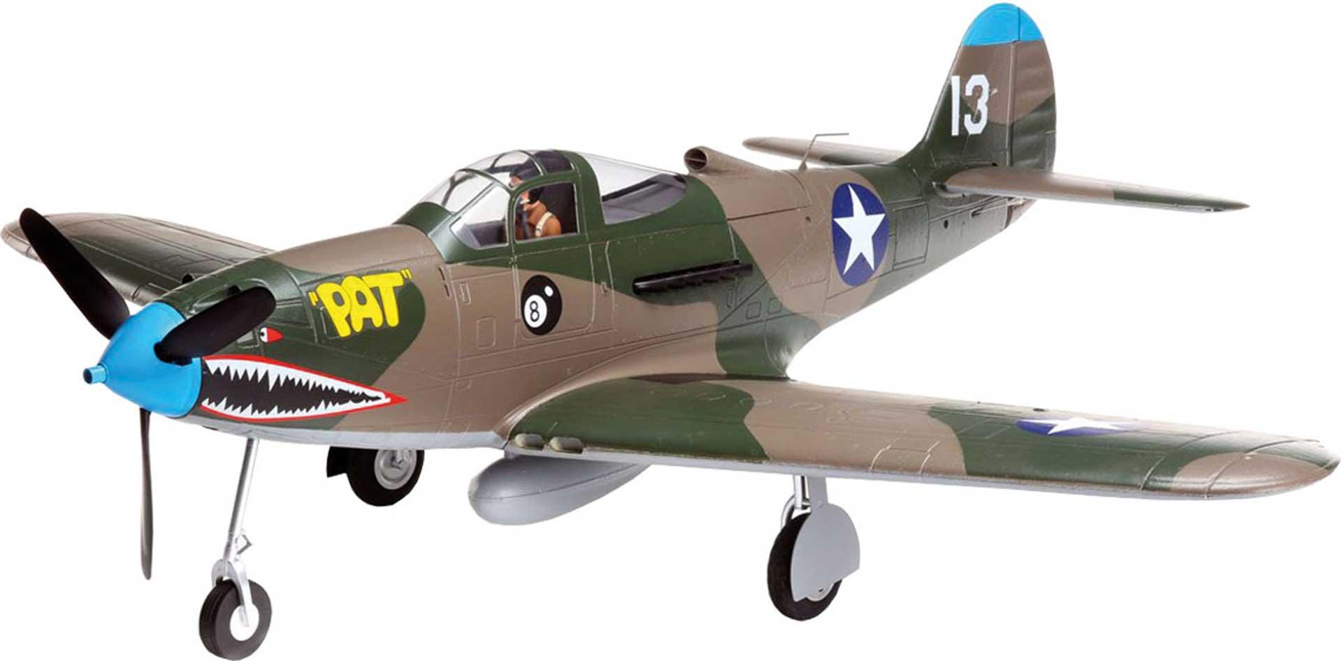 E-FLITE P-39 AIRACOBRA 1.2M AIRACOBRA BNF BASIC