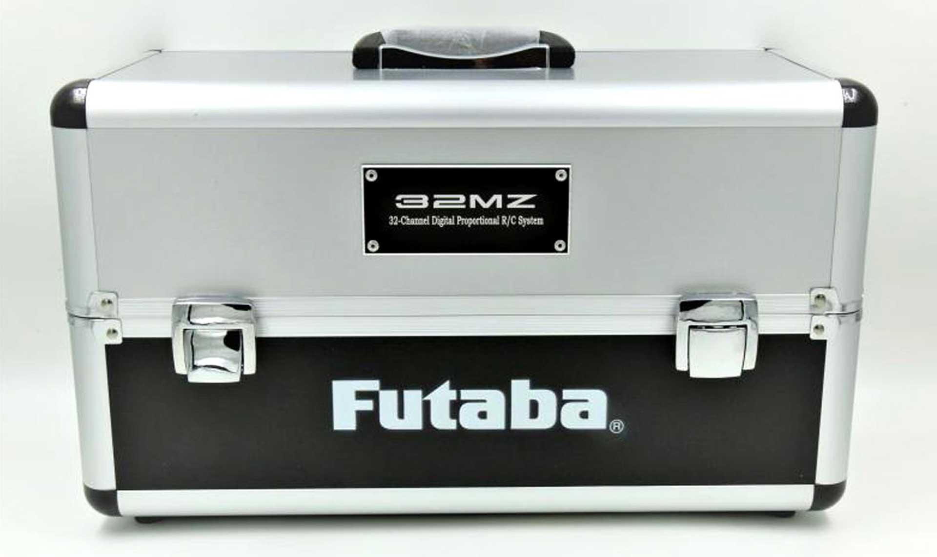 FUTABA Alu-Senderkoffer T32MZ Koffer für 2 T32MZ - 445 x 210 x 260 mm