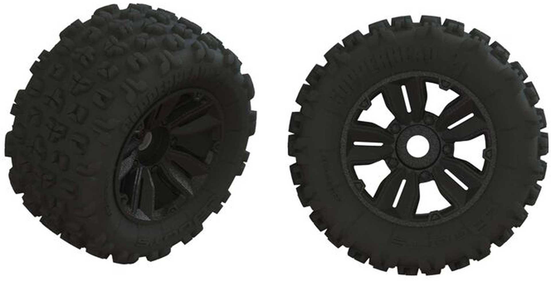 Arrma Dboots 'Copperhead2 SB MT' Tire Set Glued (1 Pair)