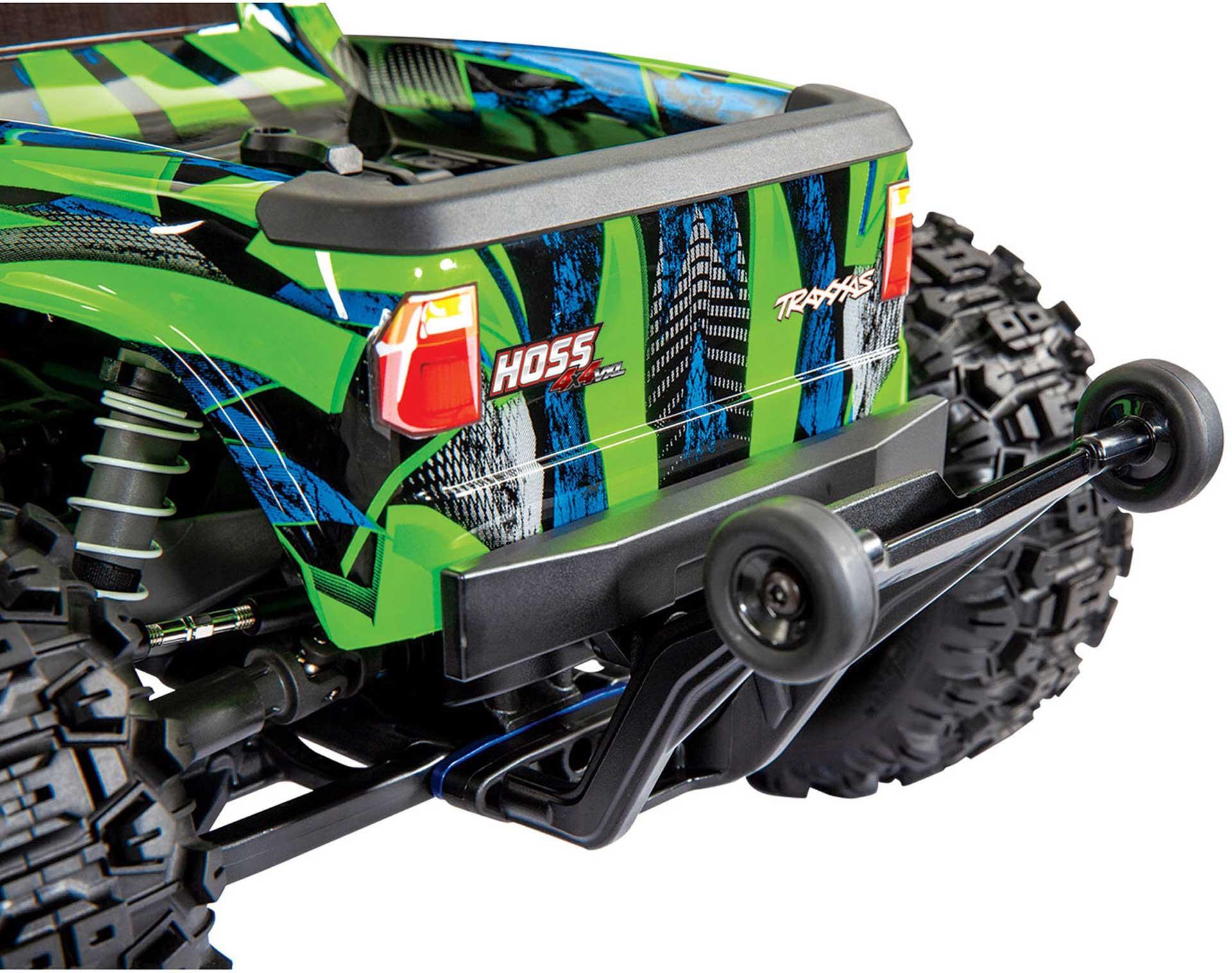 TRAXXAS HOSS 4x4 VXL 3S 1/10 RTR Monster Truck Grün Brushless ohne Akku/Lader