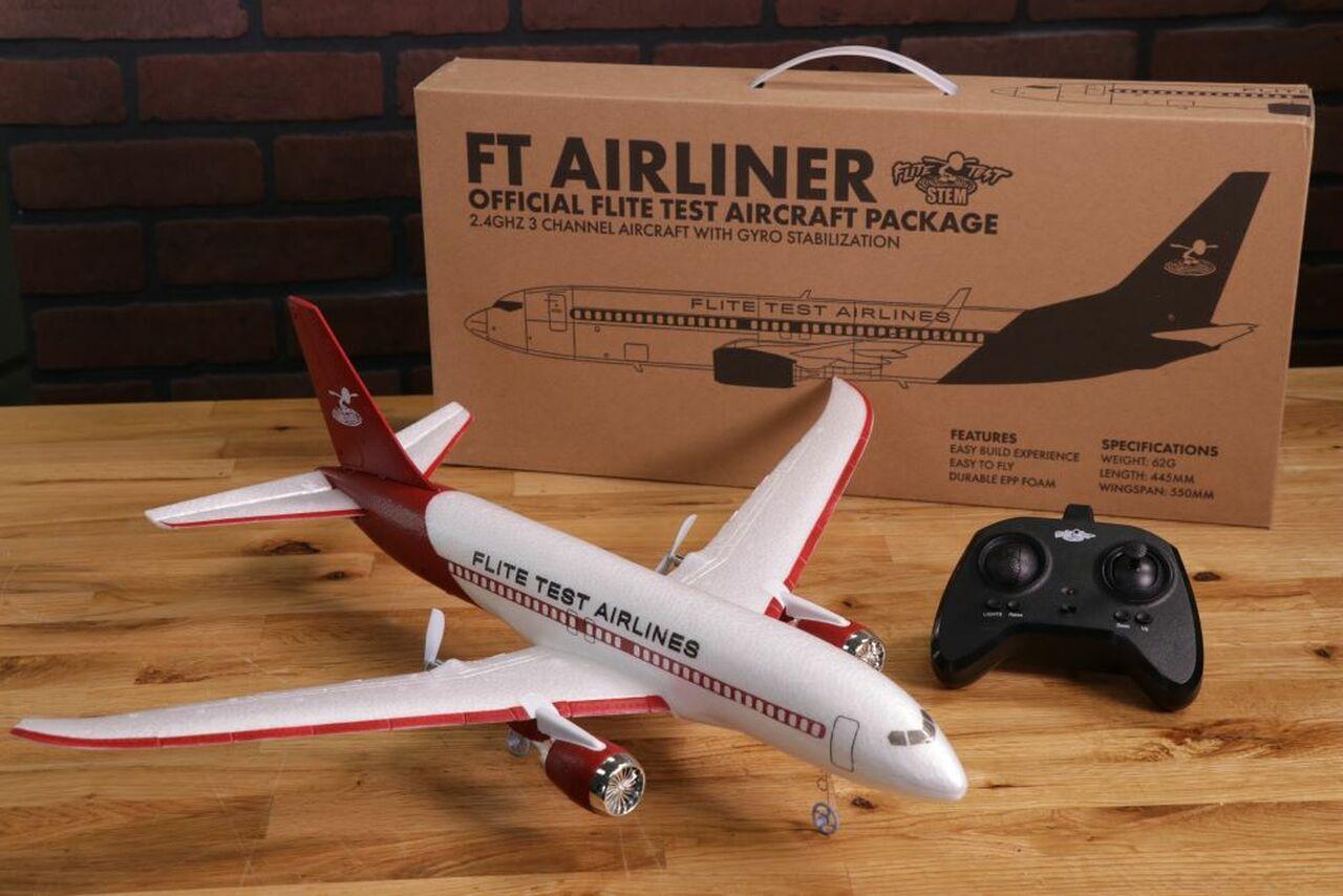 FLITE TEST Micro Airliner RTF