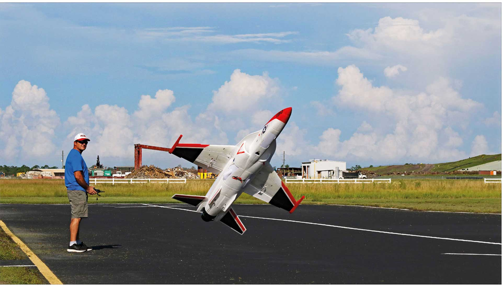 PREMIER AIRCRAFT FLEXJET THRUST VECTOR 90MM EDF IMPELLER JET SUPER PNP WITH AURA 8
