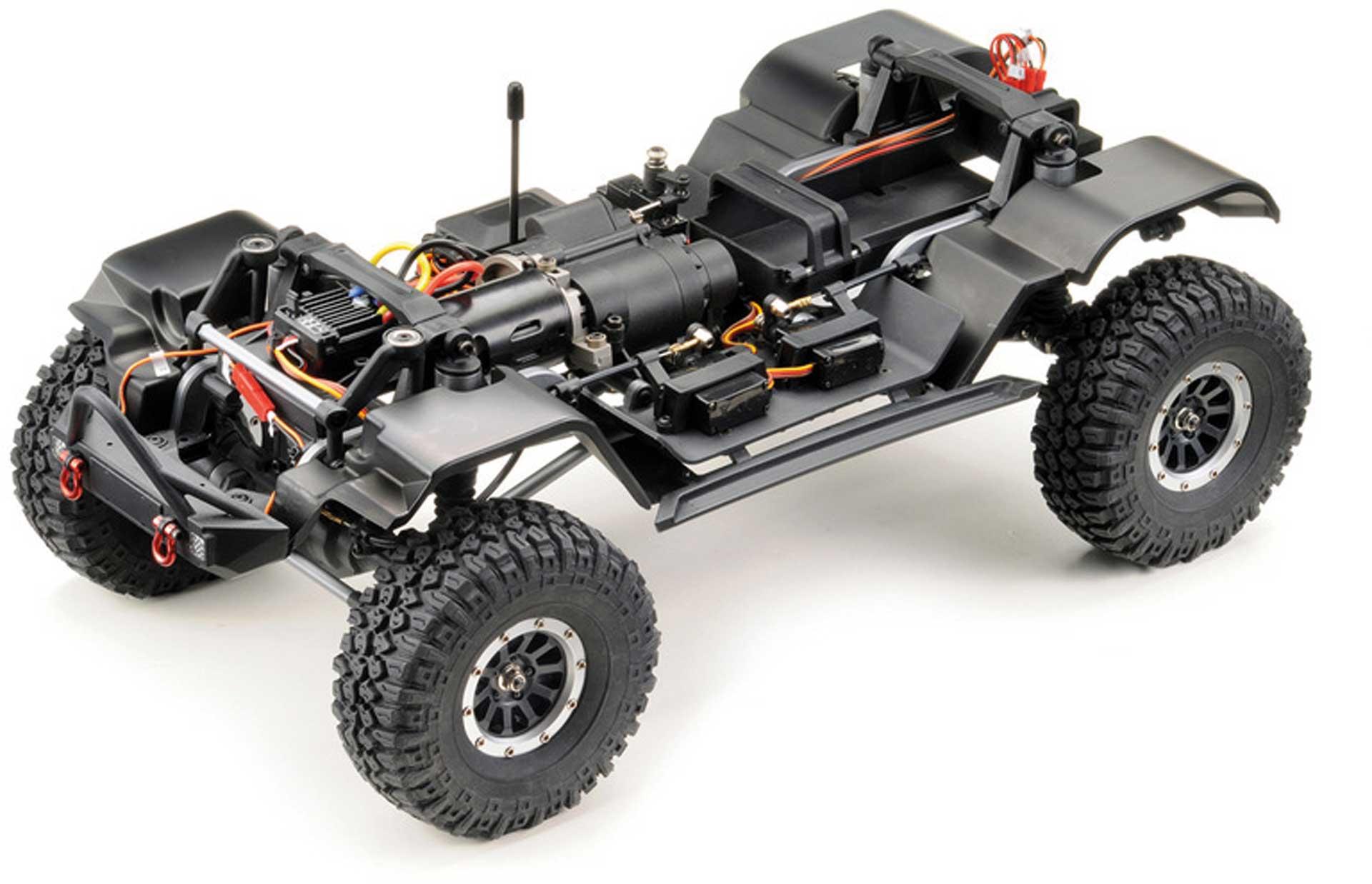 """ABSIMA CR3.4 """"SHERPA PRO"""" 1/10 Metallic-Rot RTR Crawler"""