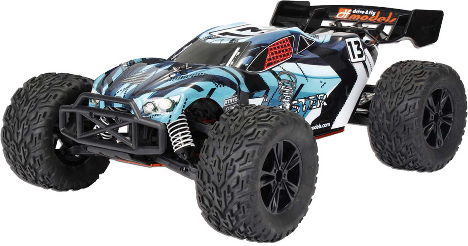 DRIVE & FLY MODELS TW-1 TRUGGY RTR BRUSHED 4WD 1/10XL BLAU