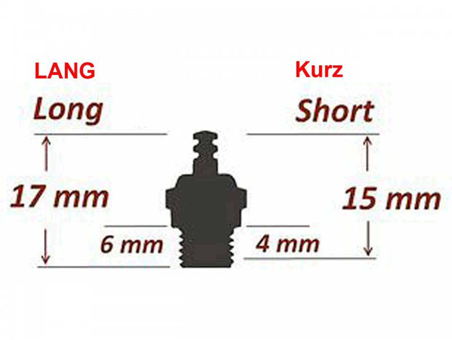 Fireball Glow plug Super Cool short