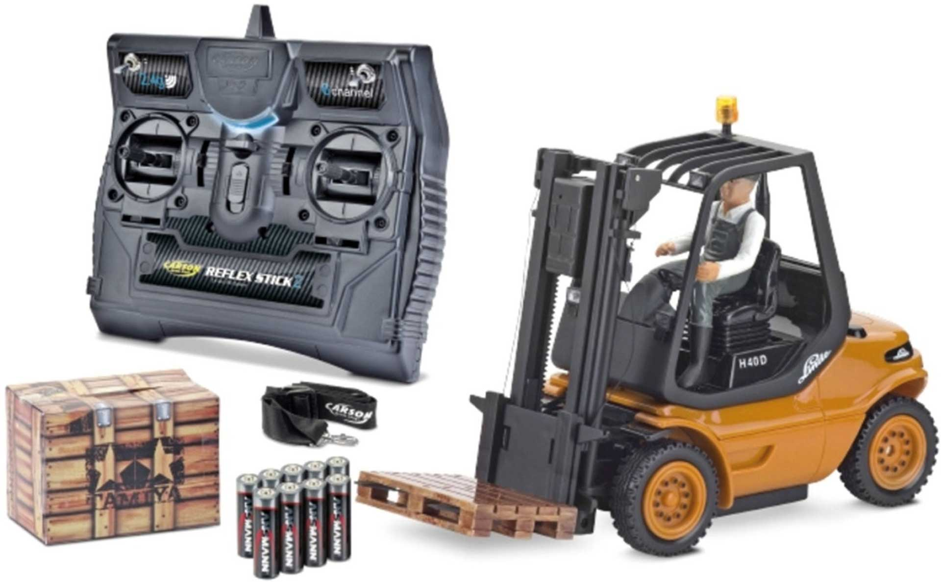 CARSON 1:14 Forklift Linde 2.4G 100%RTR Orange