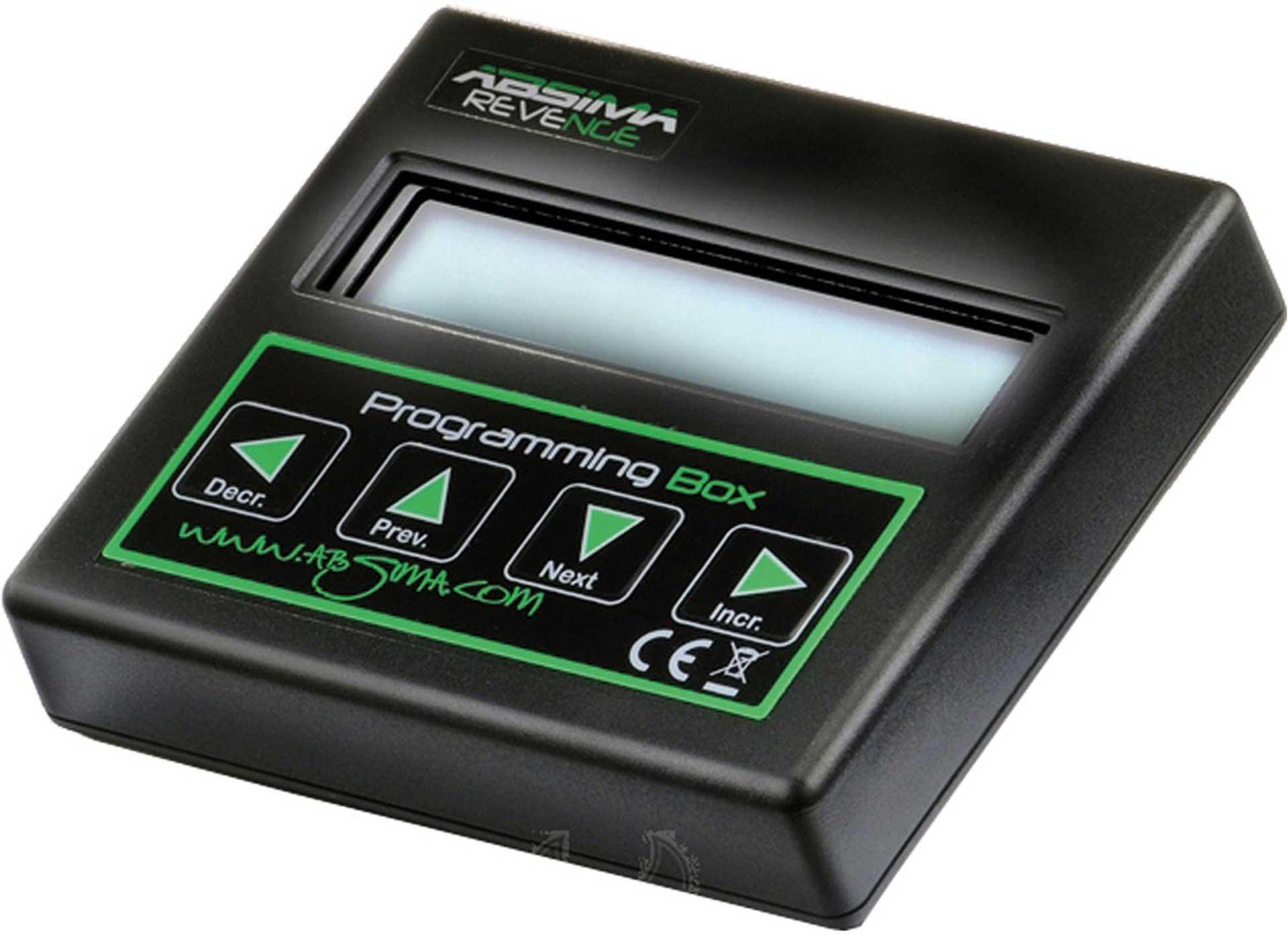 ABSIMA PROGRAMMBOX FOR  REVENGE CTS 1/8 U. 1/10
