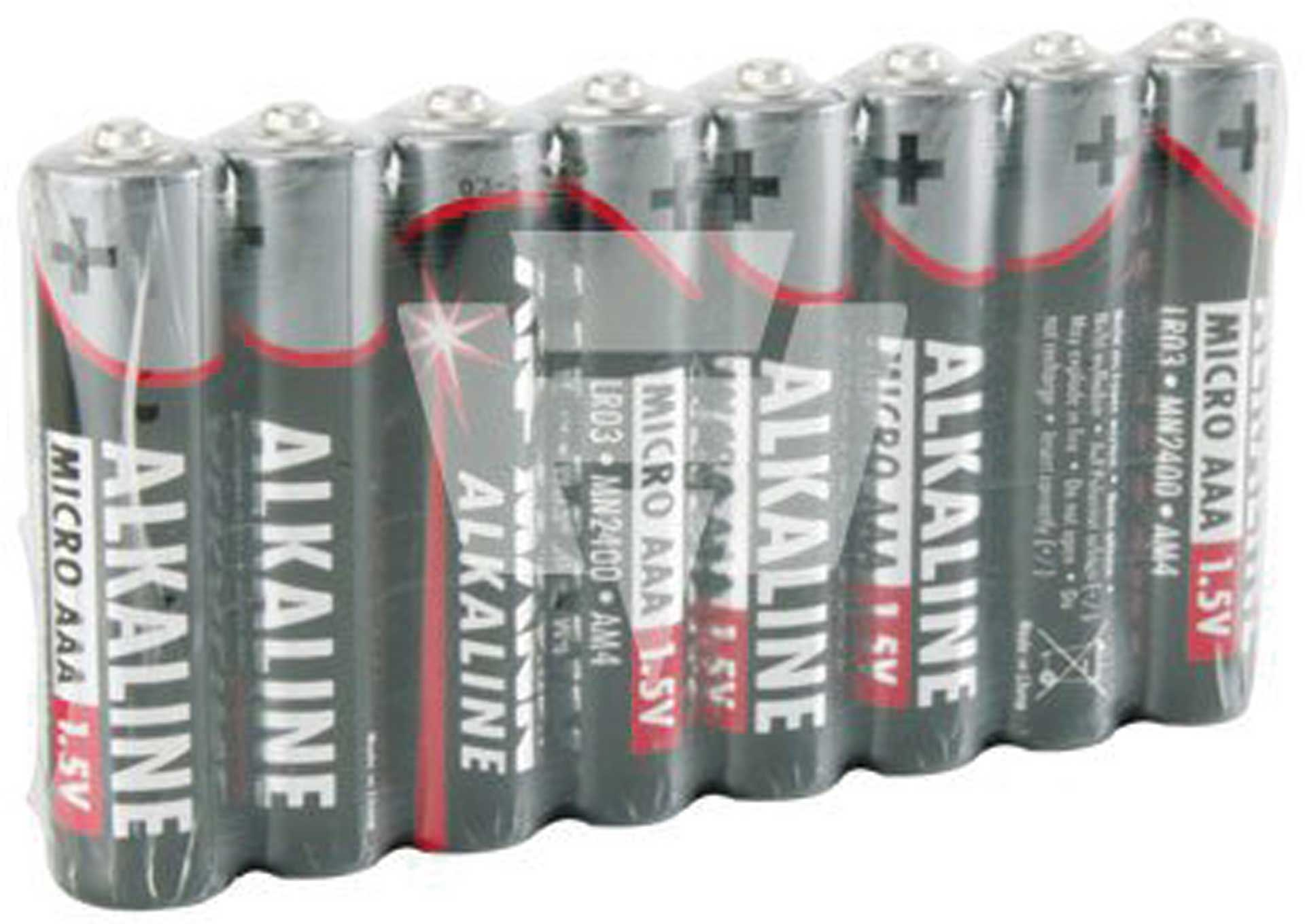 ANSMANN LR03 / AAA Alkaline Micro Batterien 8Stk