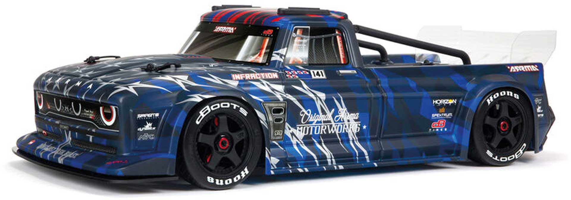 Arrma INFRACTION 6S BLX 1/7 All-Road Truck Blue