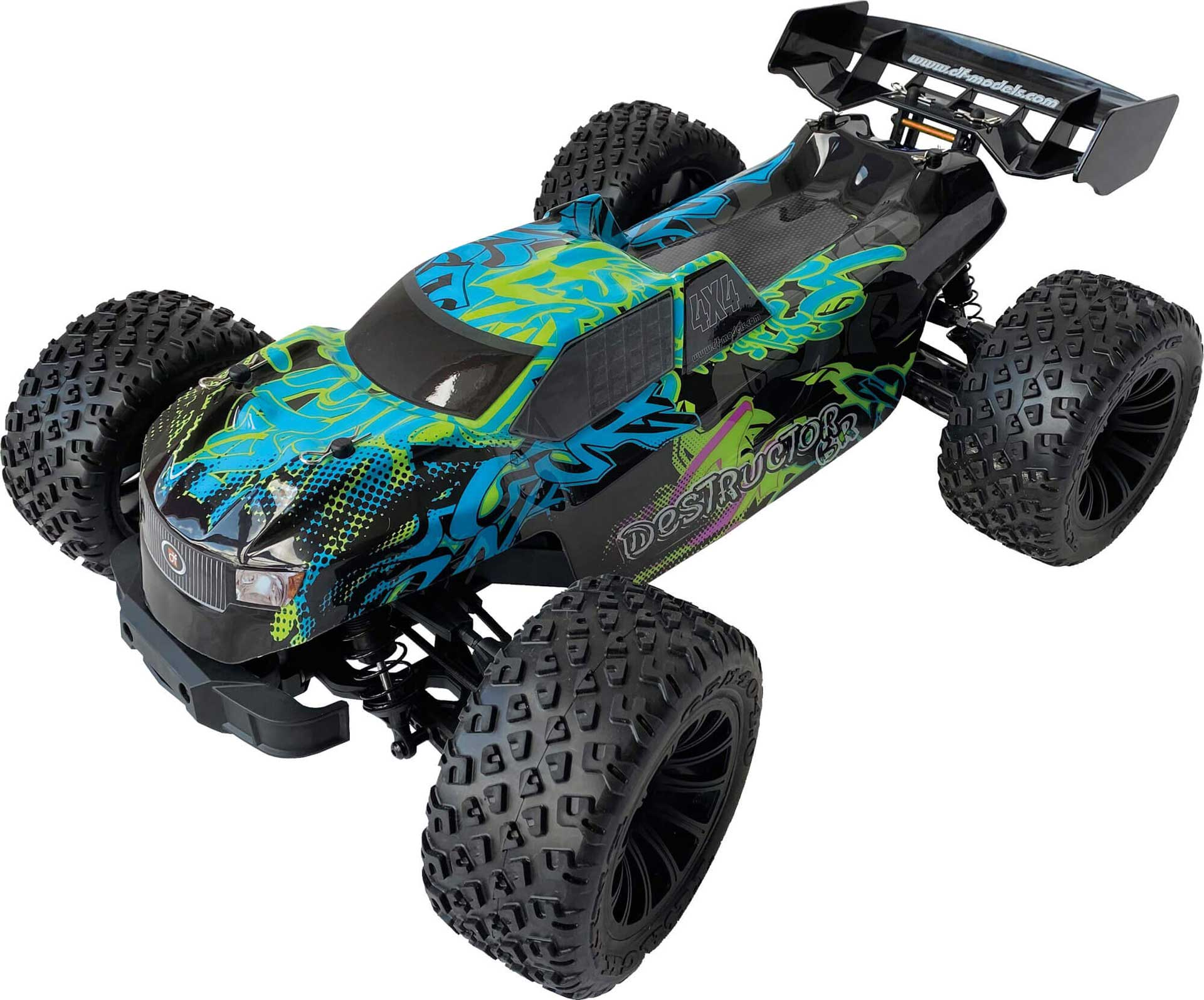 DRIVE & FLY MODELS Destructor Brushed Truggy 1/8 EP RTR