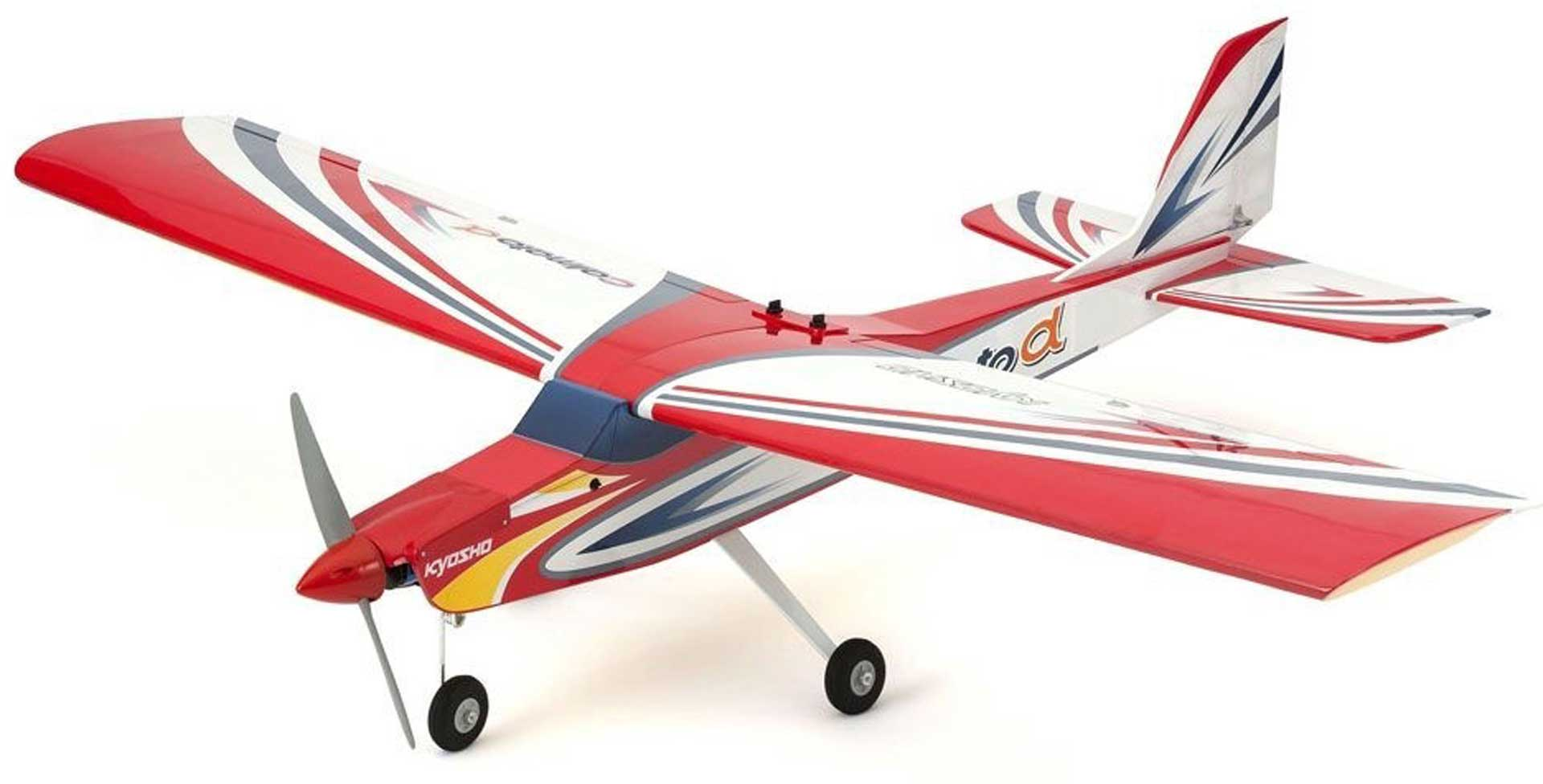 KYOSHO CALMATO ALPHA 40 TRAINER TOUGHLON ROT EP/GP