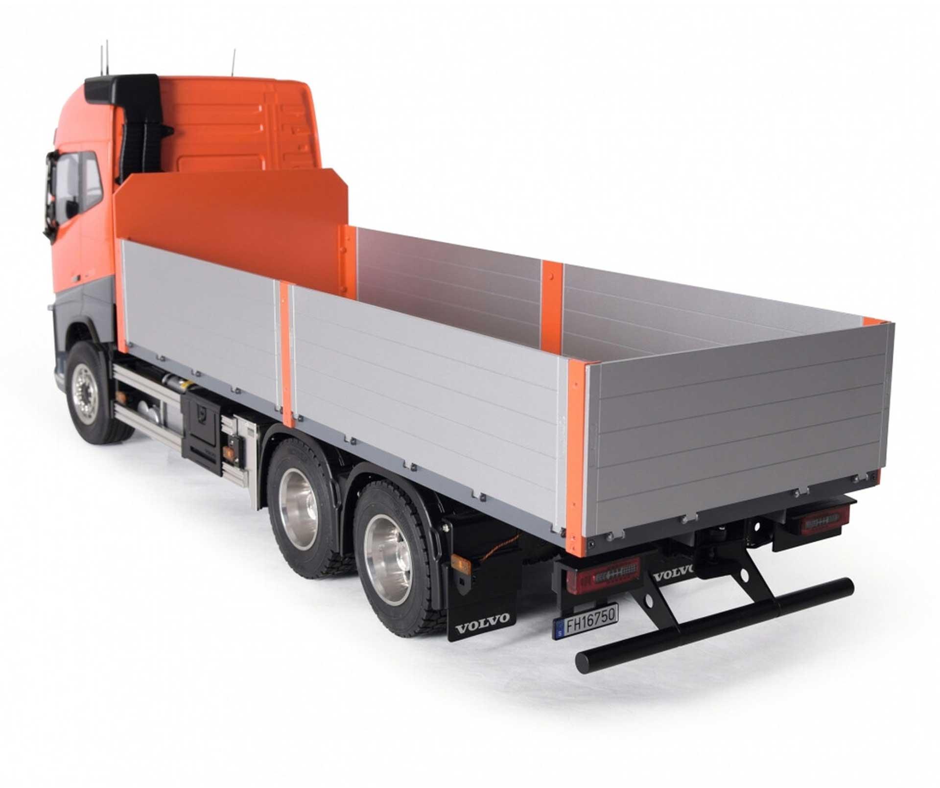 CARSON 1:14 Baustoffaufbau lang für Volvo FH16 Holztransporter