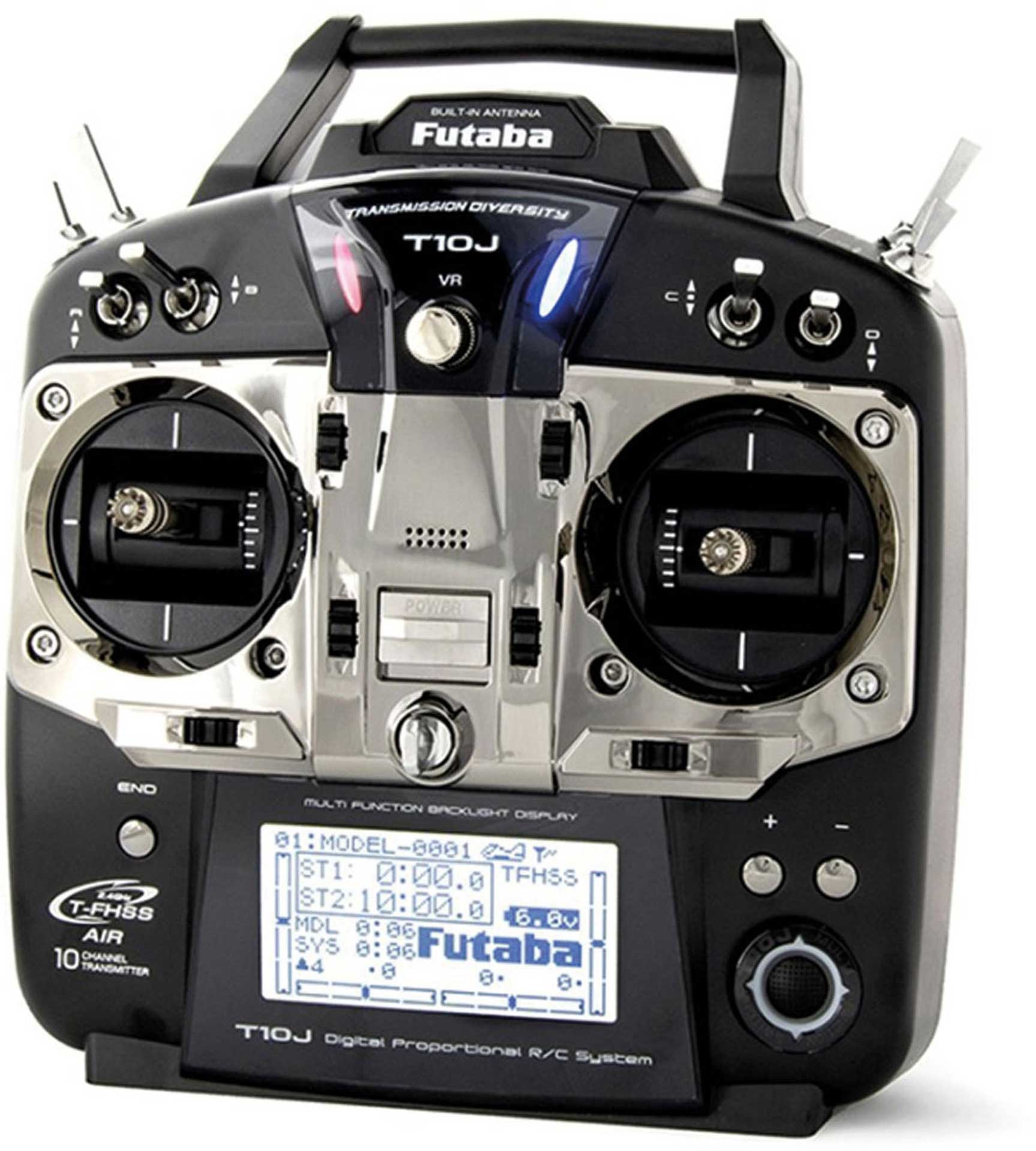 FUTABA T10J T-FHSS M1 WITH R3008SB RECEIVER REMOTE CONTROL NOT MOUNT / MOUNT COMPATI