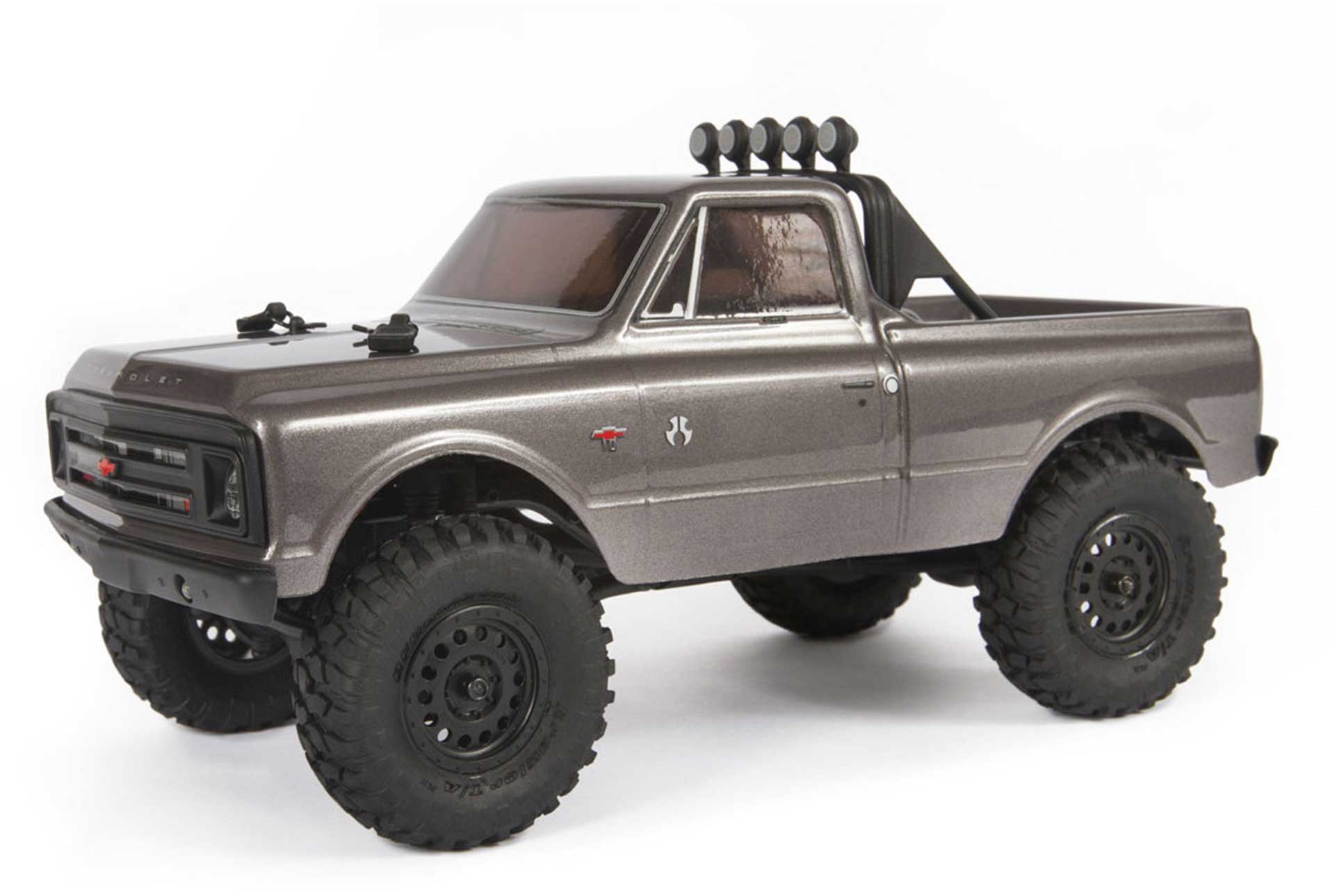 AXIAL SCX24™ 1967 CHEVROLET C10 TRUCK 1/24 ANTHRACITE SCALE RTR