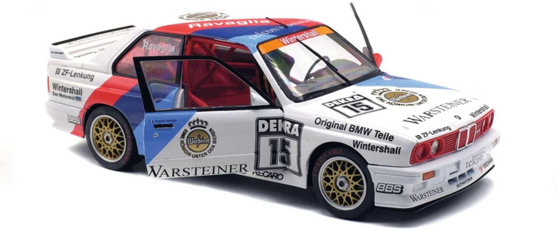 SOLIDO BMW E30 DTM 1989 1/18 FLOOR MODEL