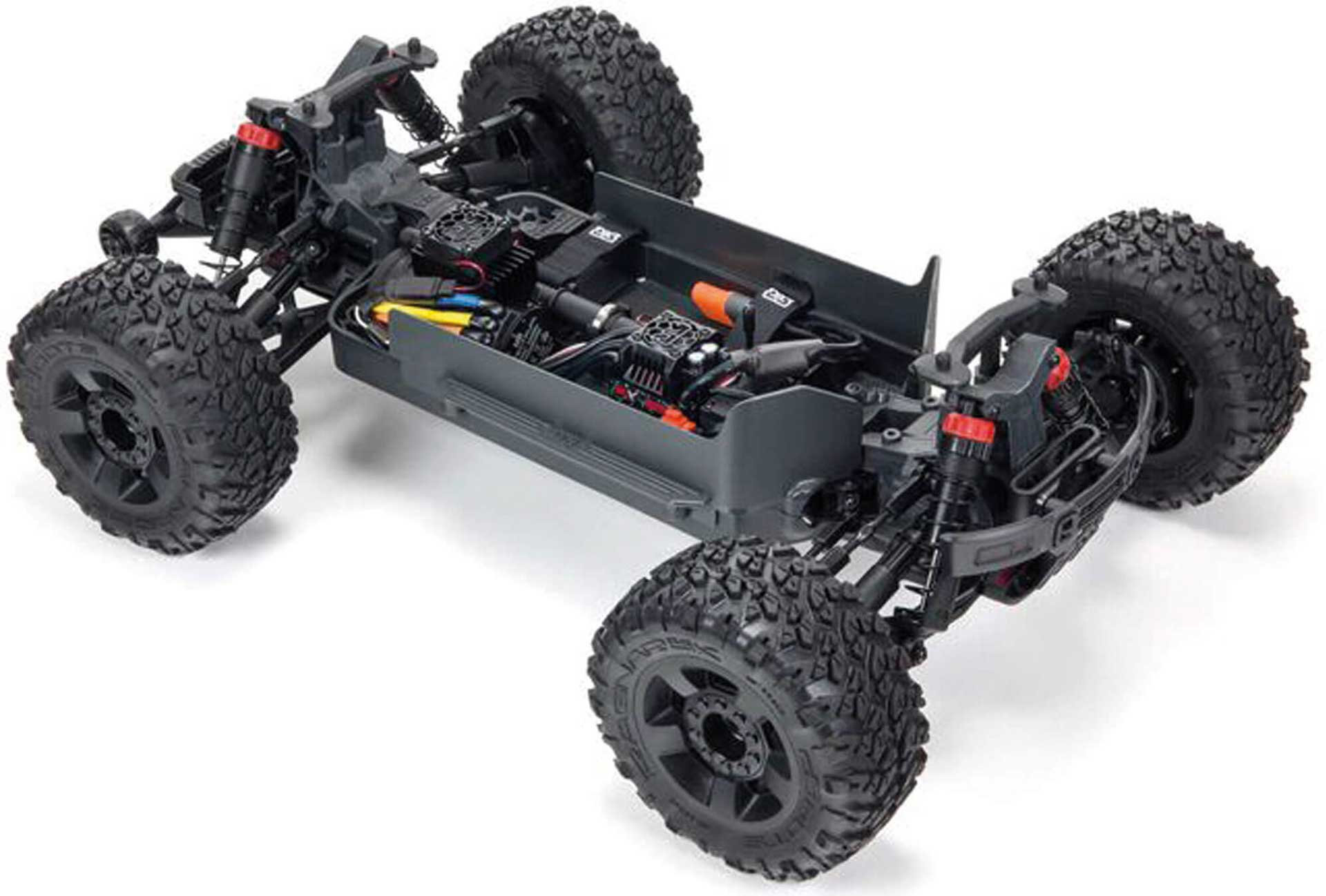 ARRMA BIG ROCK 4X4 3S BLX Brushless 1/10th 4wd MT Black