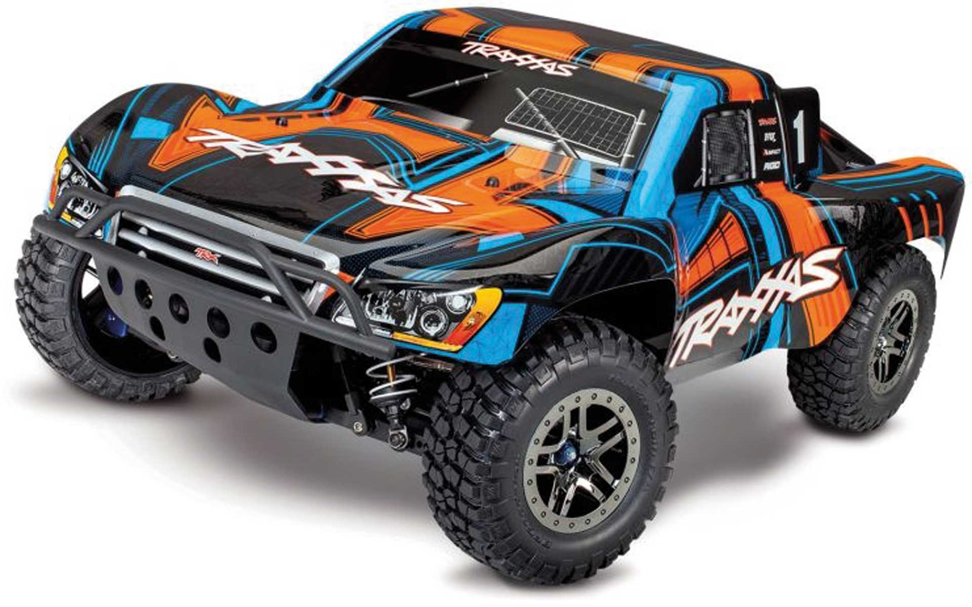 Traxxas SLASH 4X4 VXL ULTIMATE ORANGE RTR OHNE AKKU/LAD ER 1/10 4WD SHORT-COURSE-RACE-TRUCK BRUS